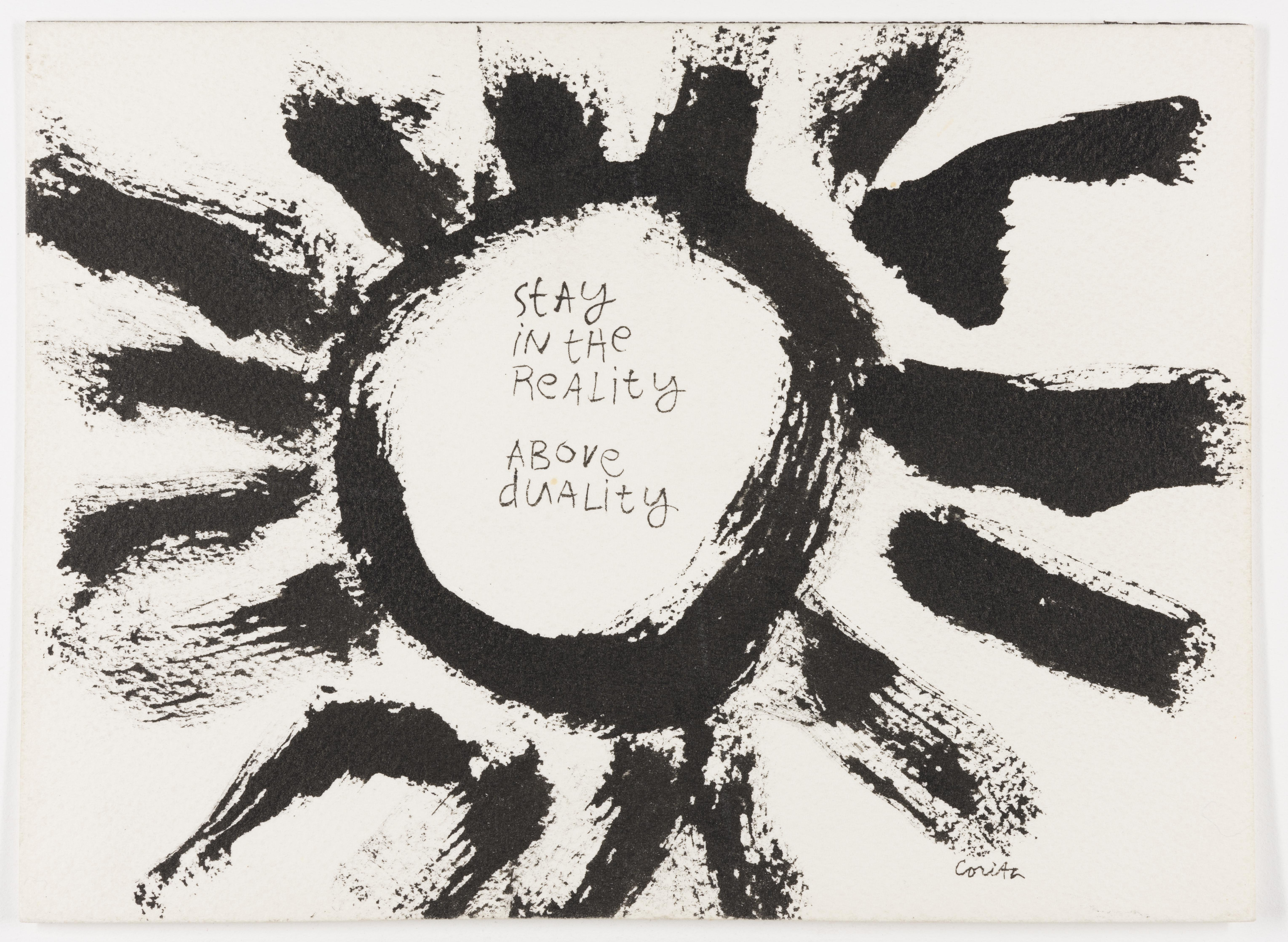 Corita Kent, Untitled, 1974