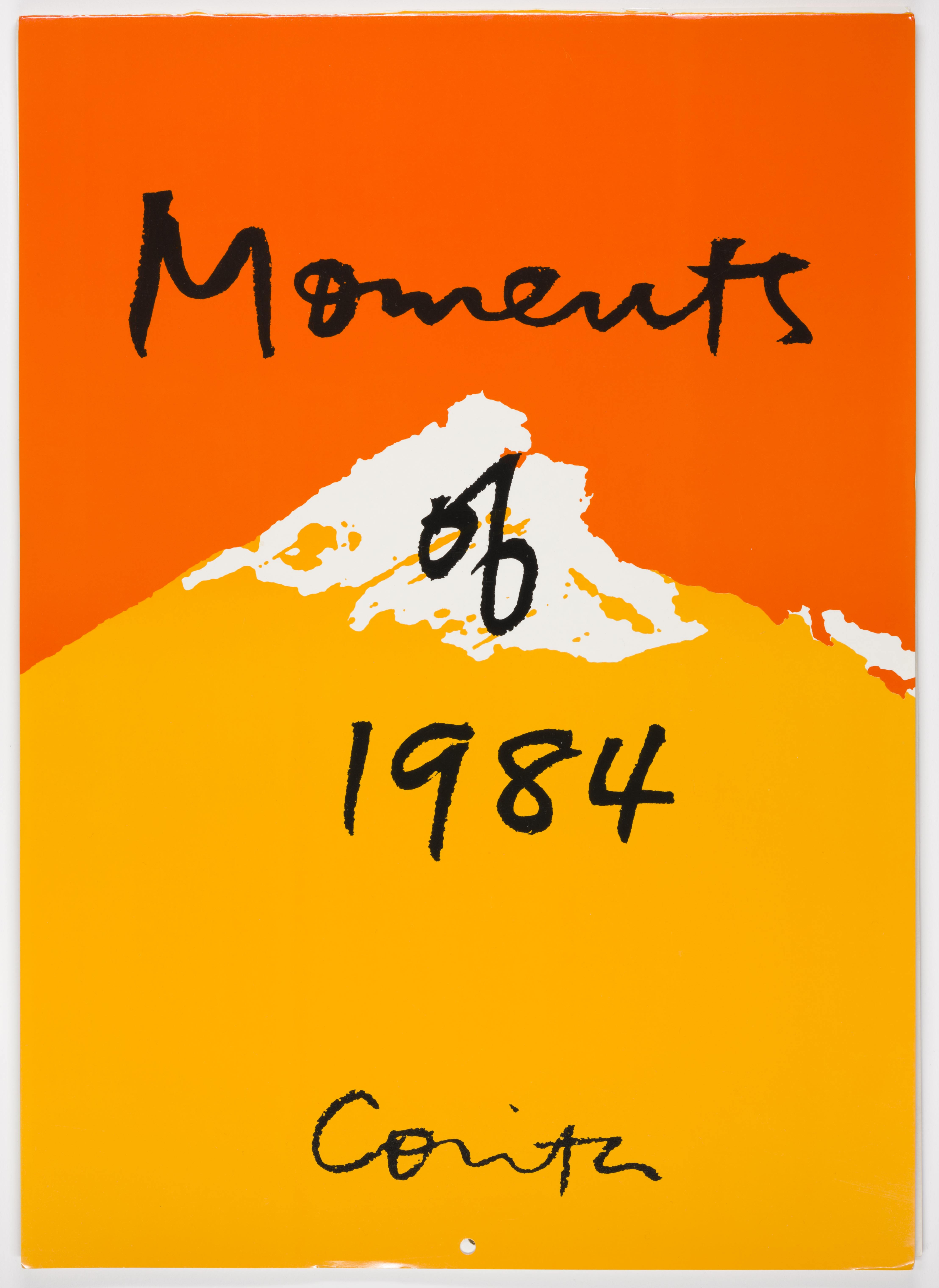 Corita Kent, Moments, 1982