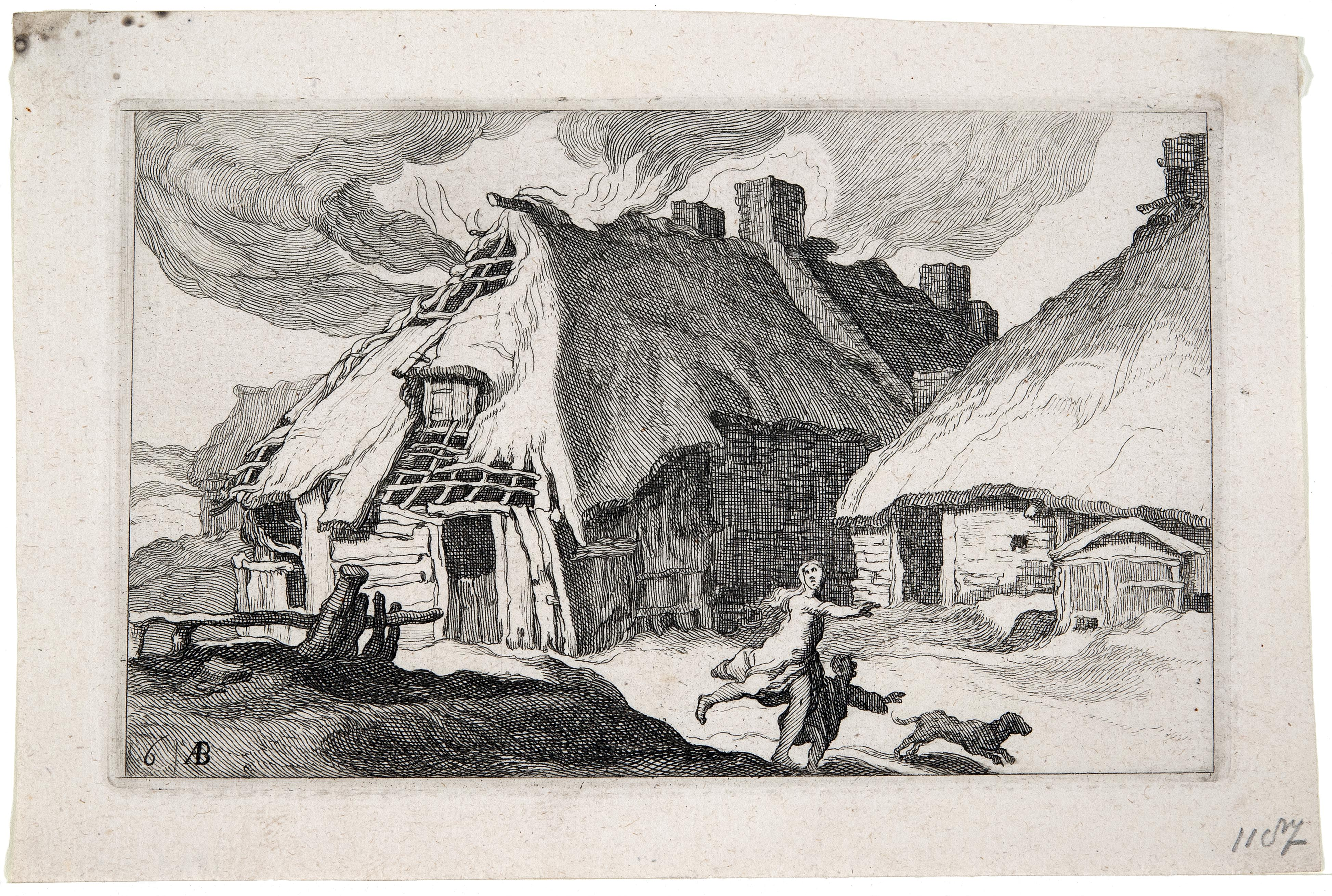 Abraham Bloemaert, Landscapes with Farmhouses #6, 1564-1651