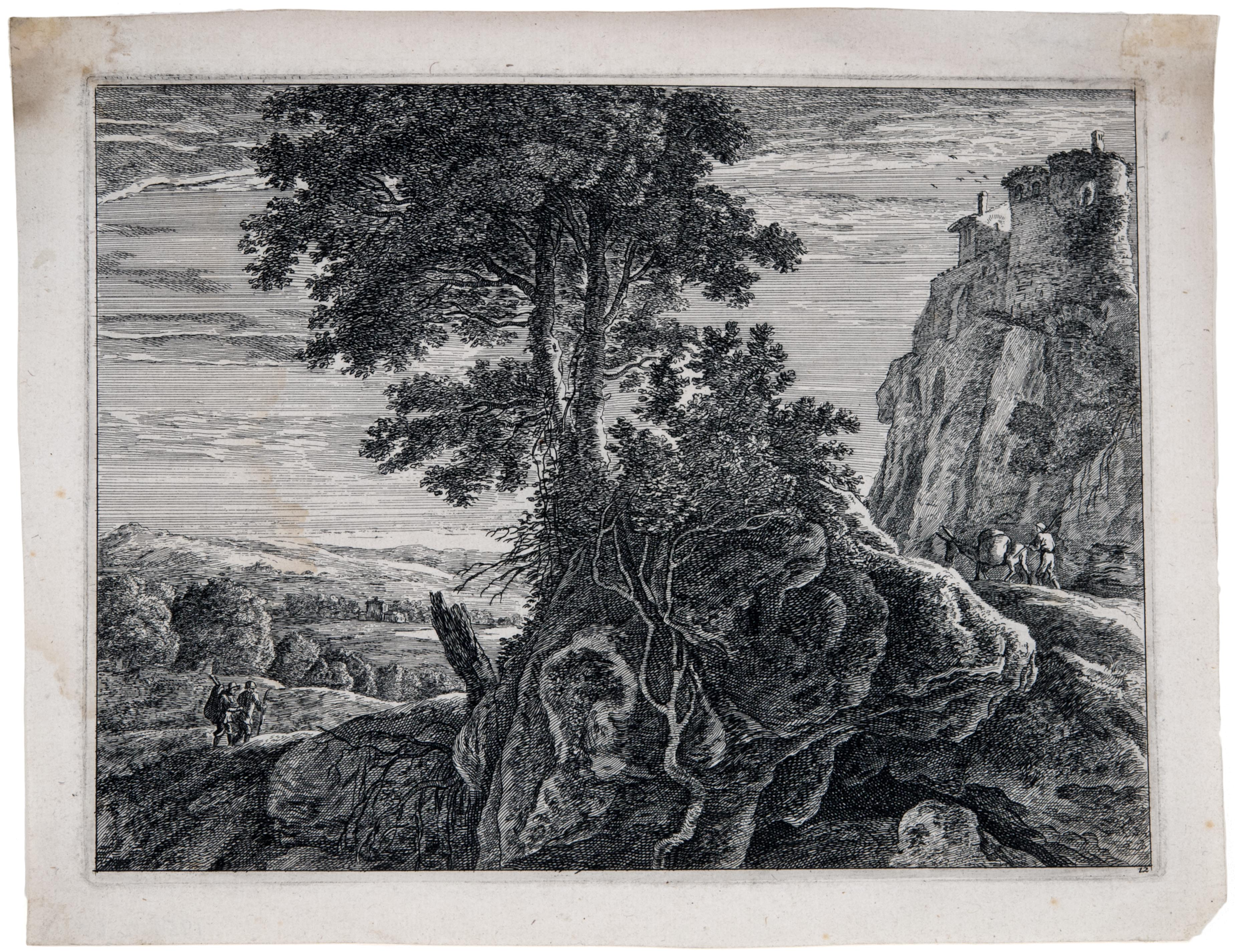Anonymous, Landscape, 18th century