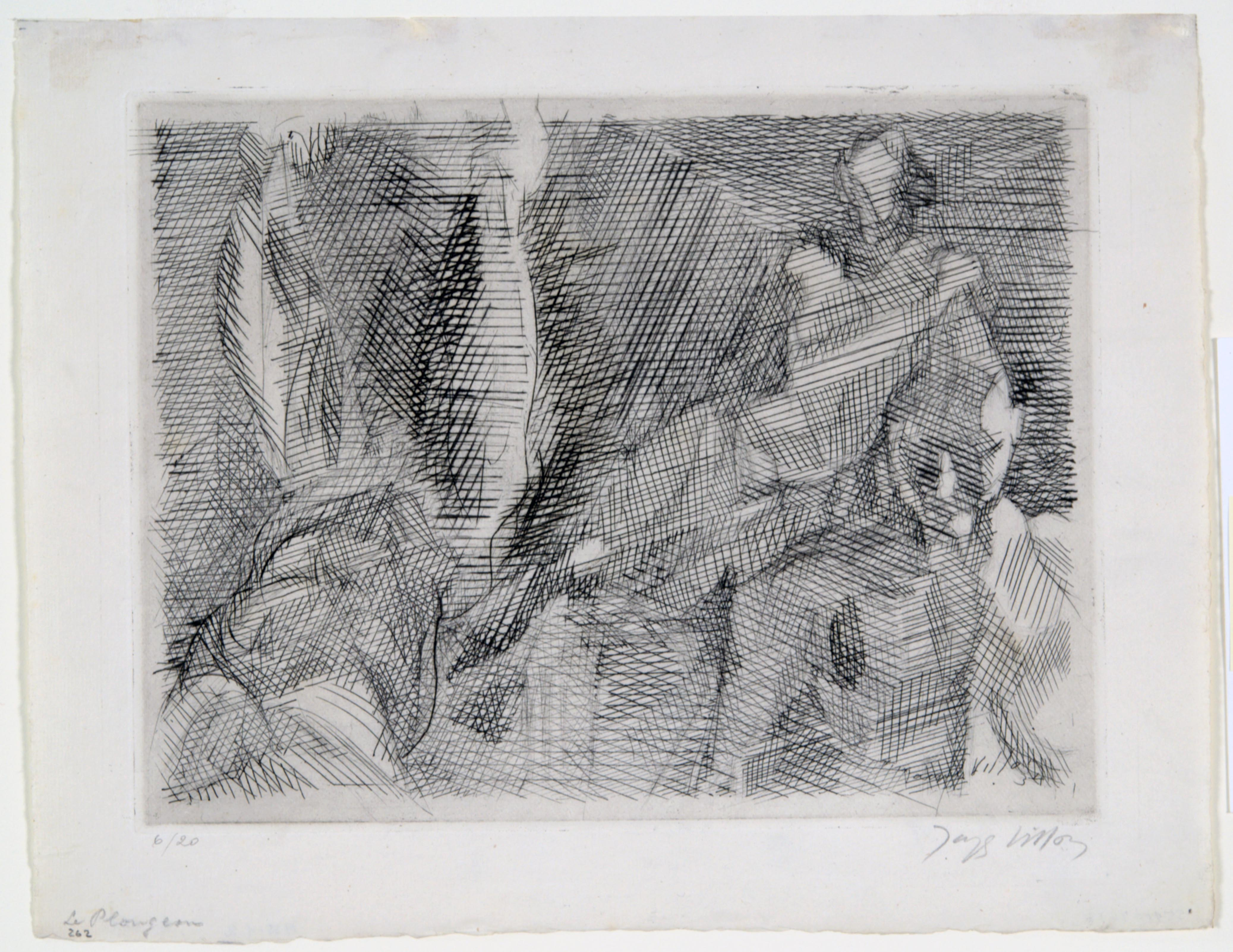 Jacques Villon, Dive, 1934