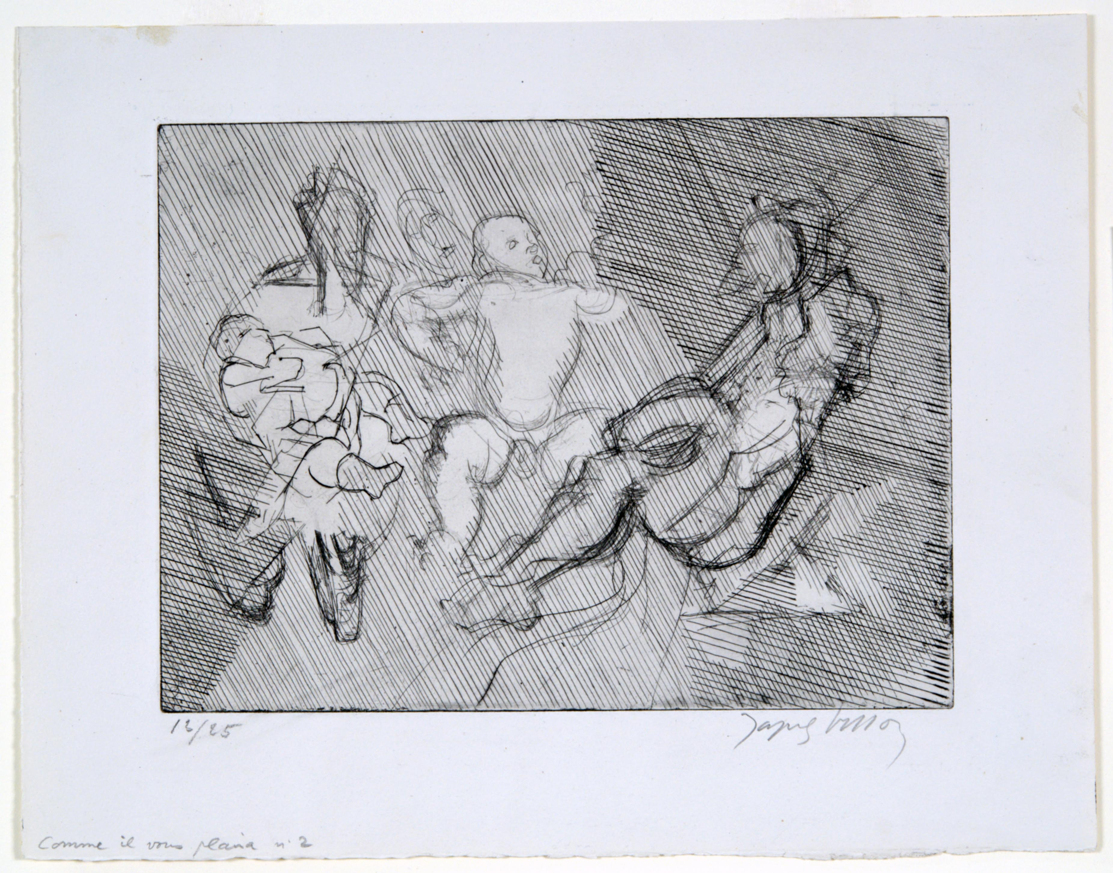 Jacques Villon, As You Like It No 2 (Dream or Nightmare), 1946