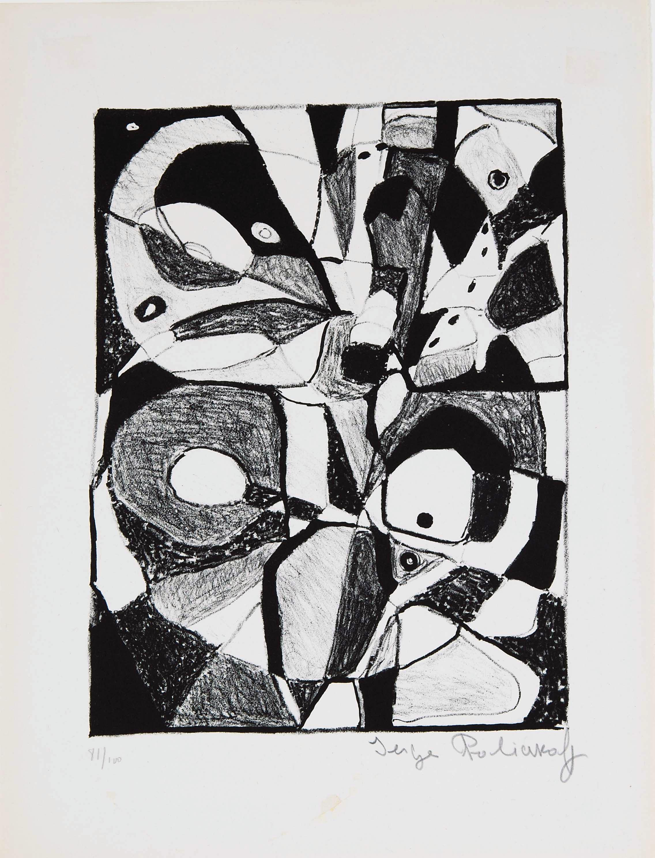 Serge Poliakoff, Composition, 1946