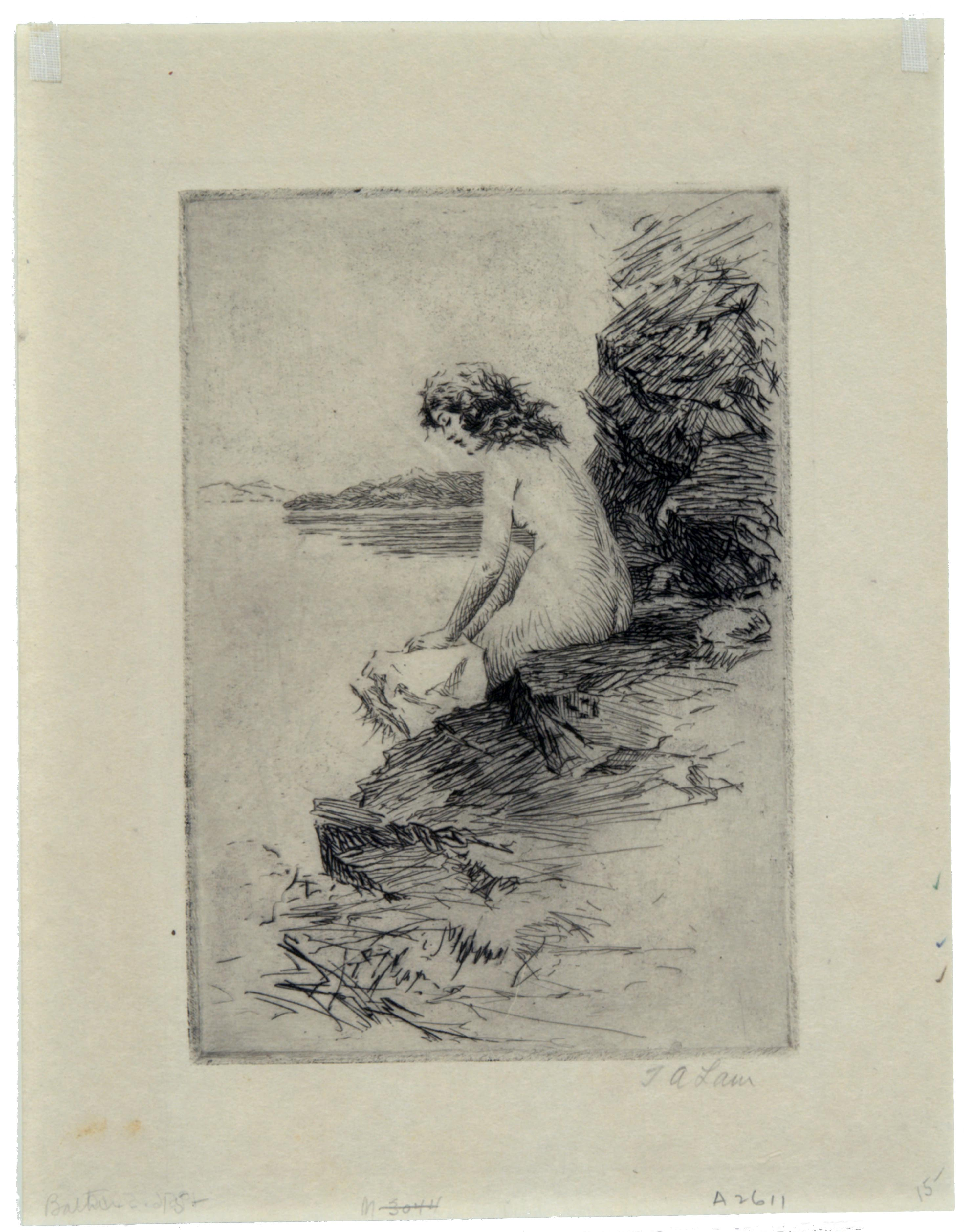 Andrew Law, Bathing Nude II, 1890