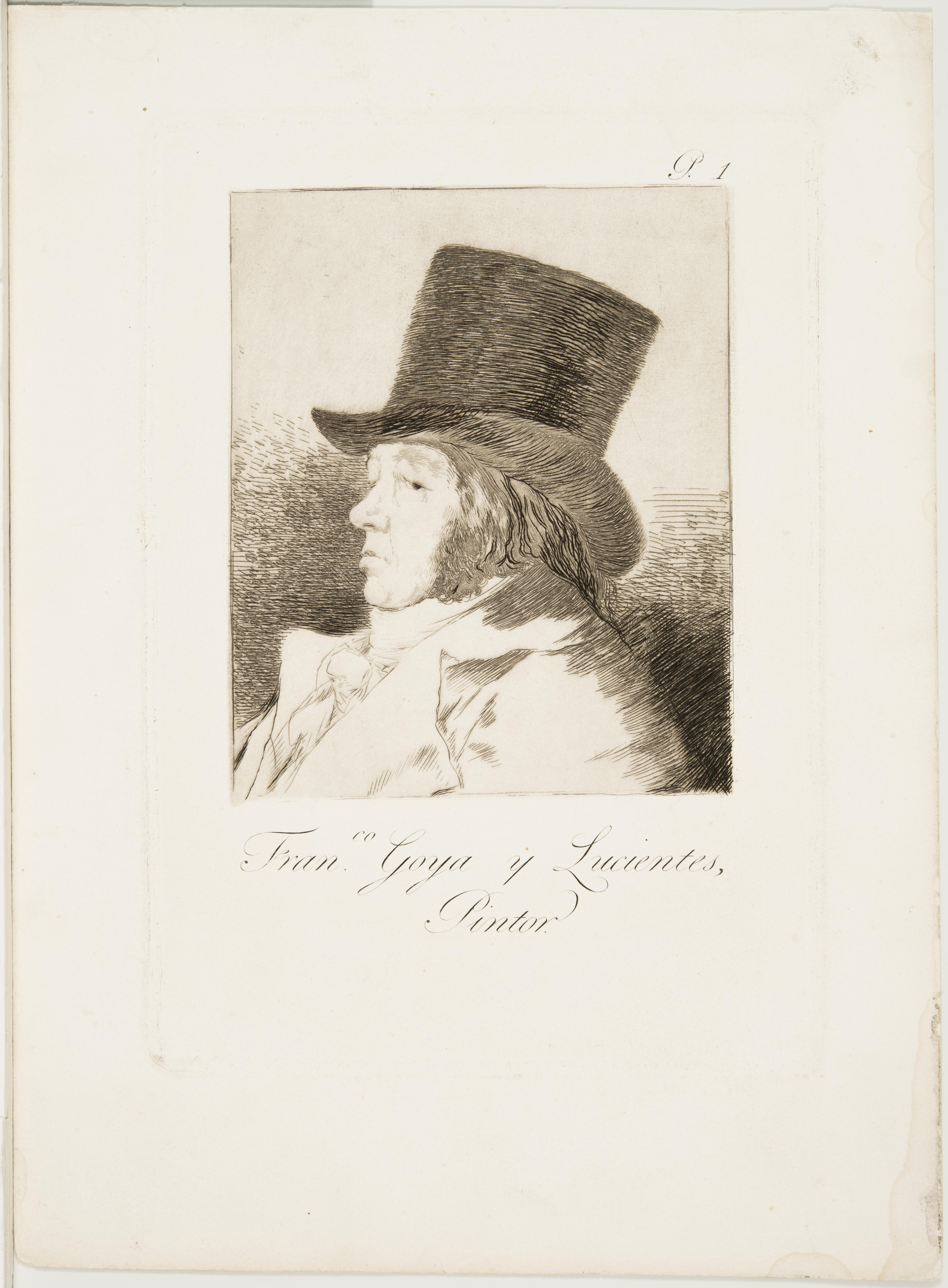 Francisco José de Goya y Lucientes, Self-portrait, 1794 - 1798