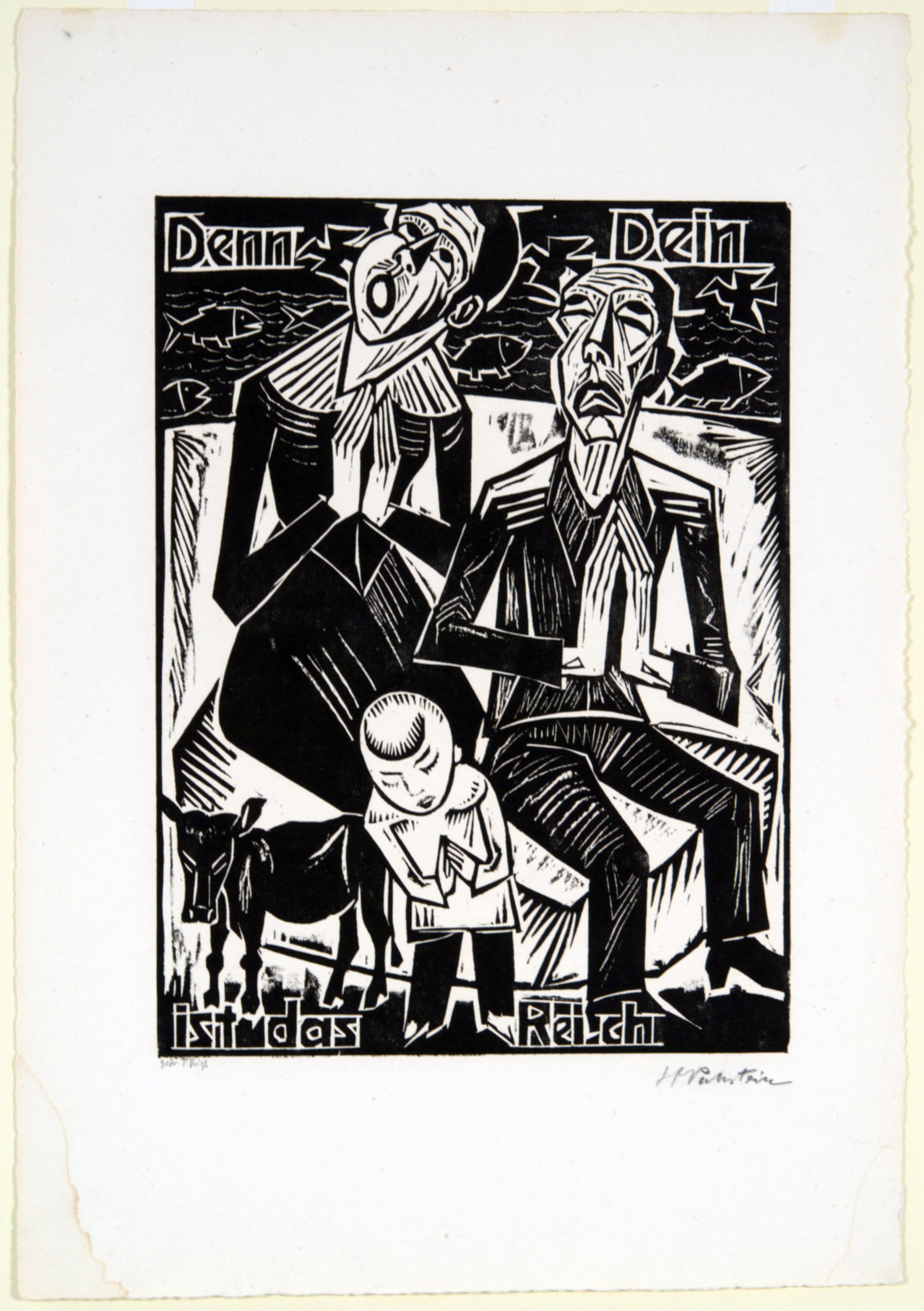Max Pechstein, For Thine is the Kingdom, 1921
