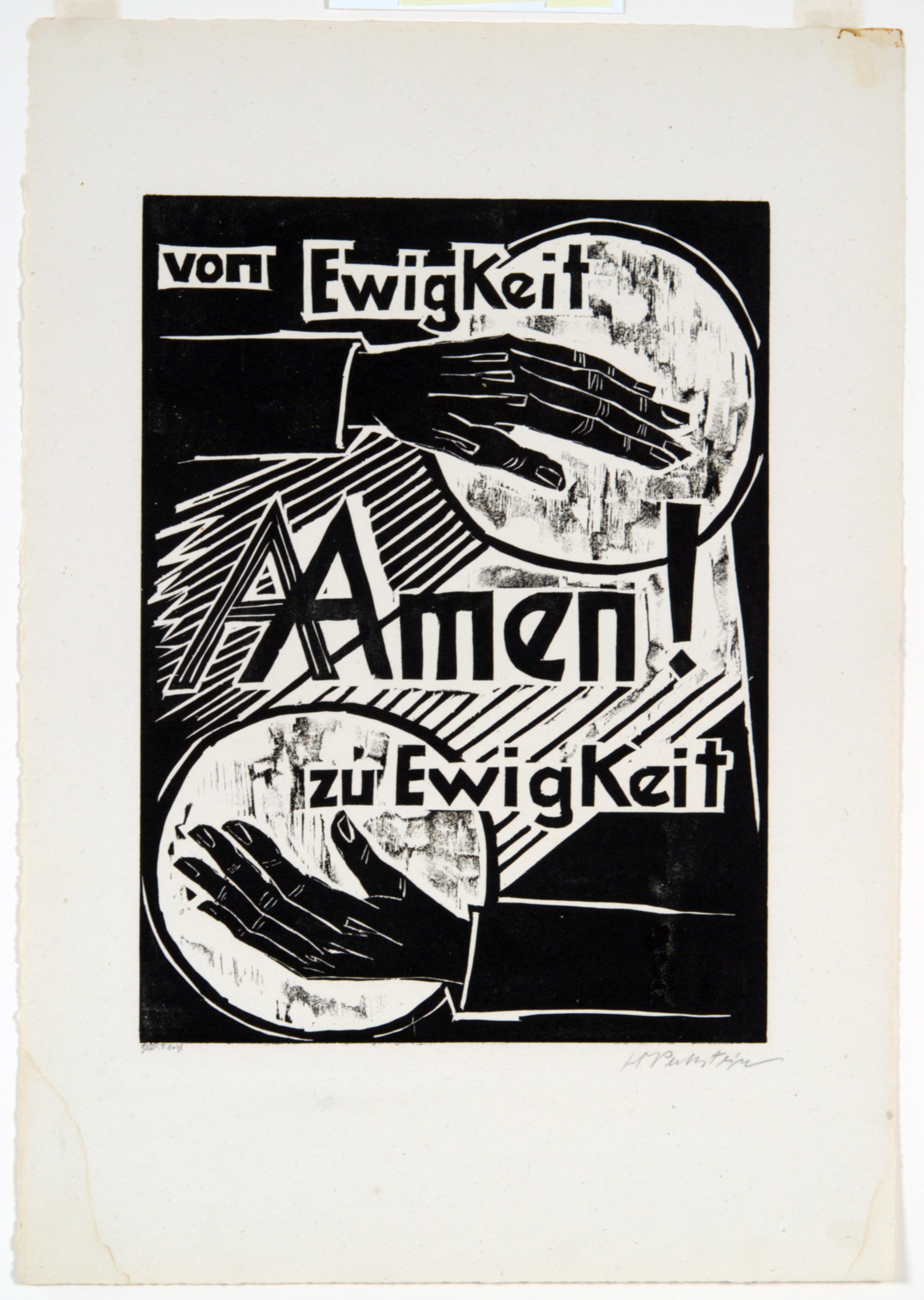 Max Pechstein, For ever and ever, Amen, 1921