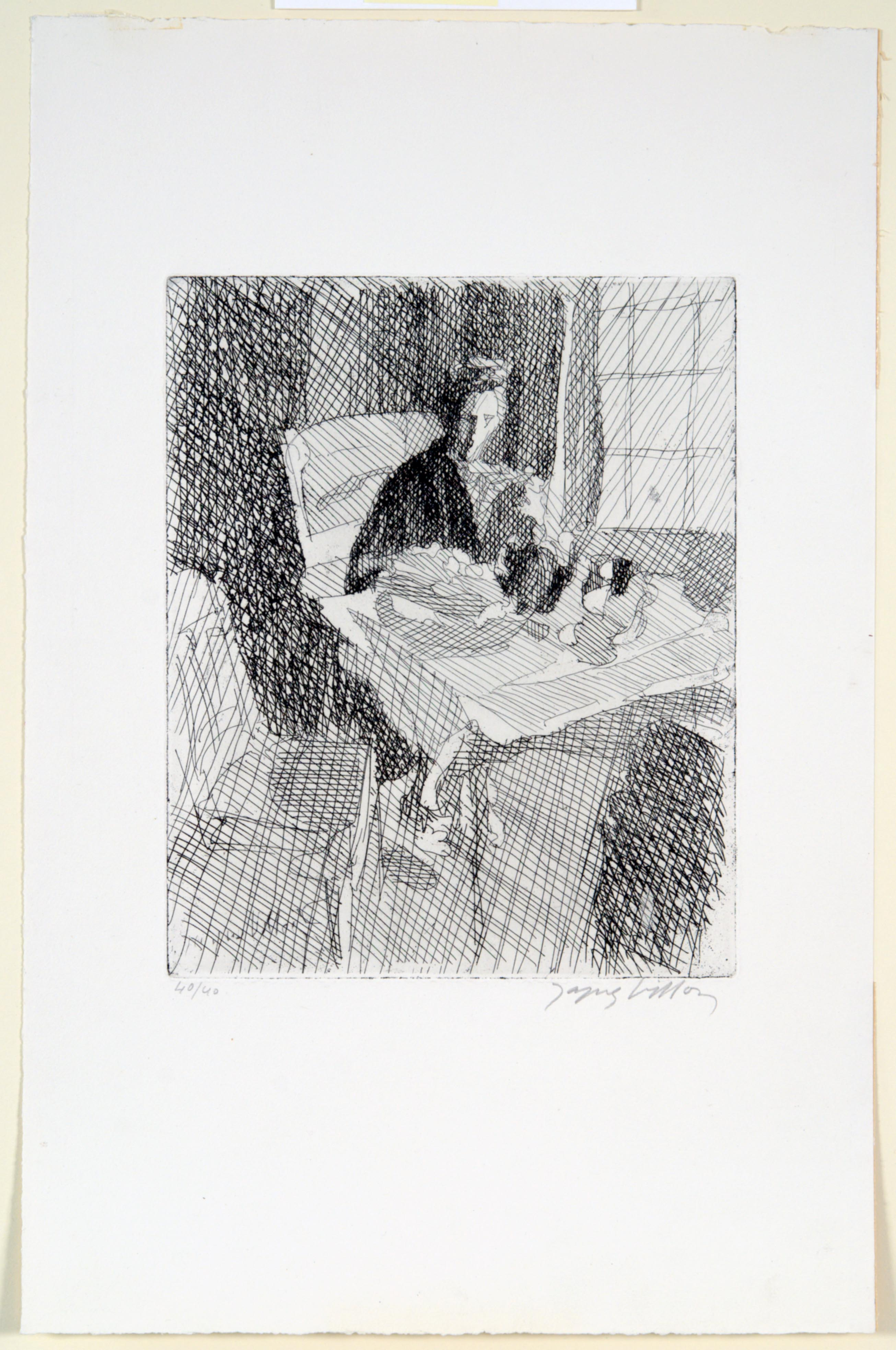 Jacques Villon, Interior, 1943