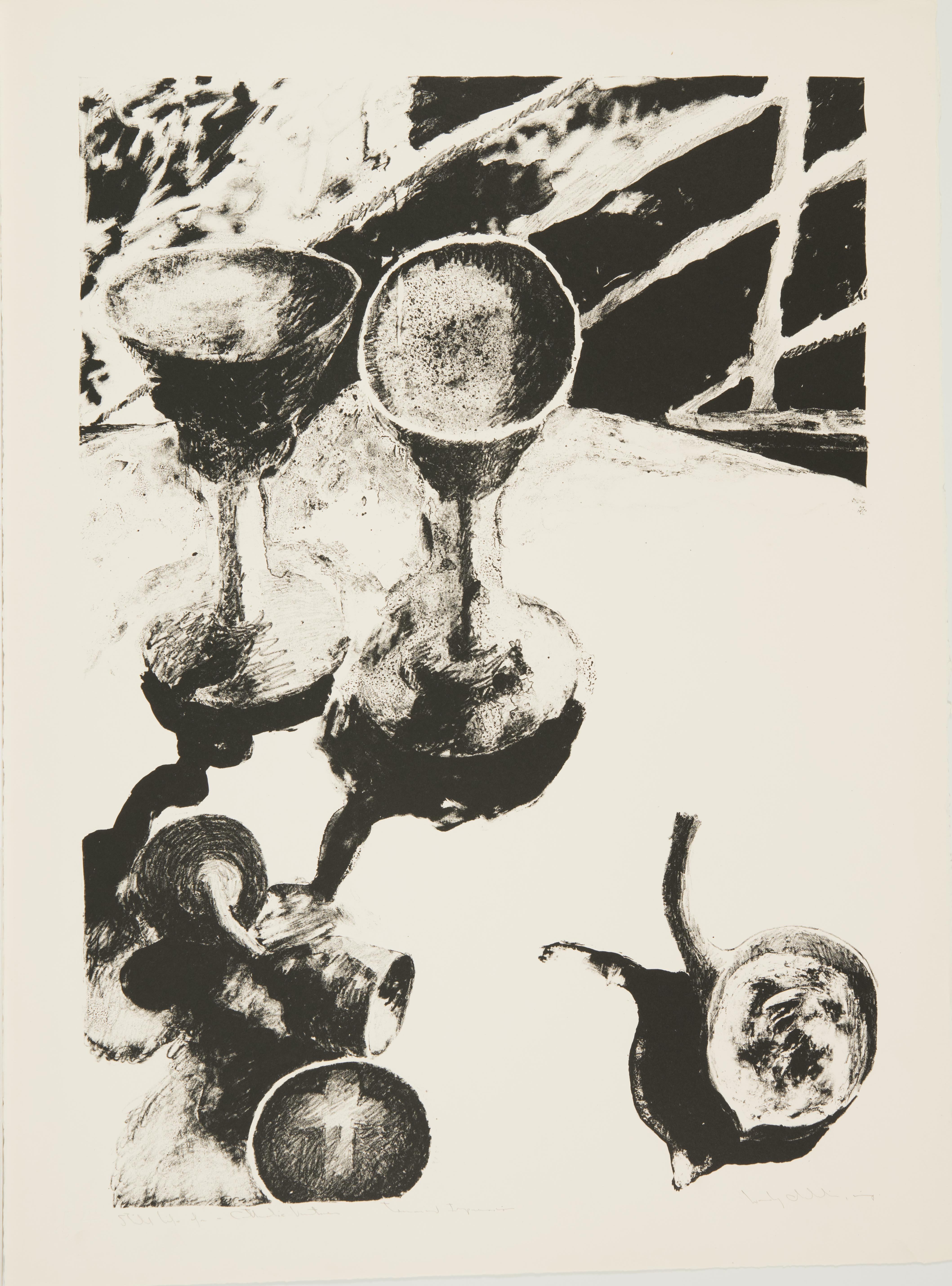 Wesley Chamberlin, Still Life for a Catholic Vintner, March 1962