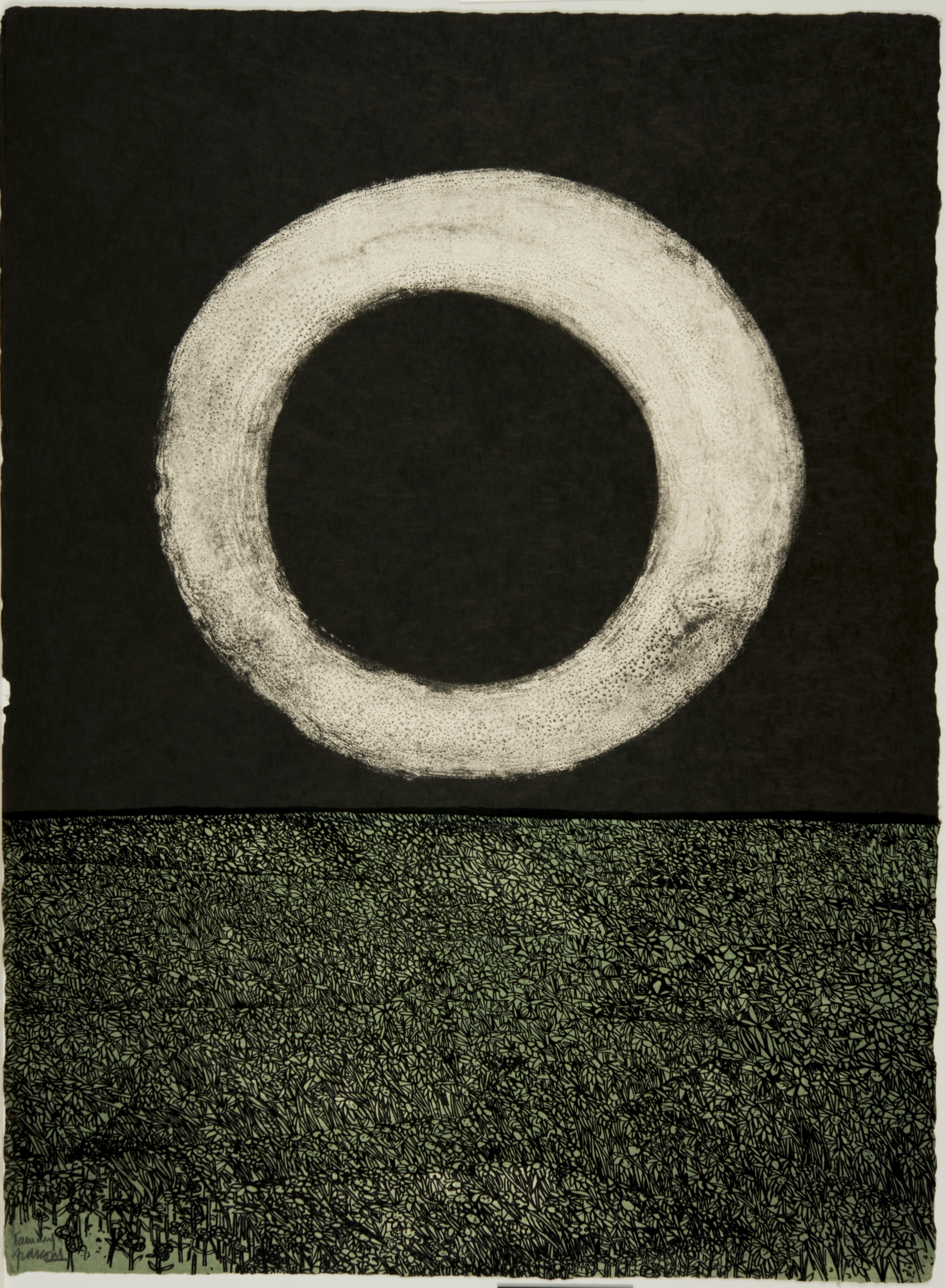 Antonio Frasconi, Moon (XIV), March 16-23, 1962
