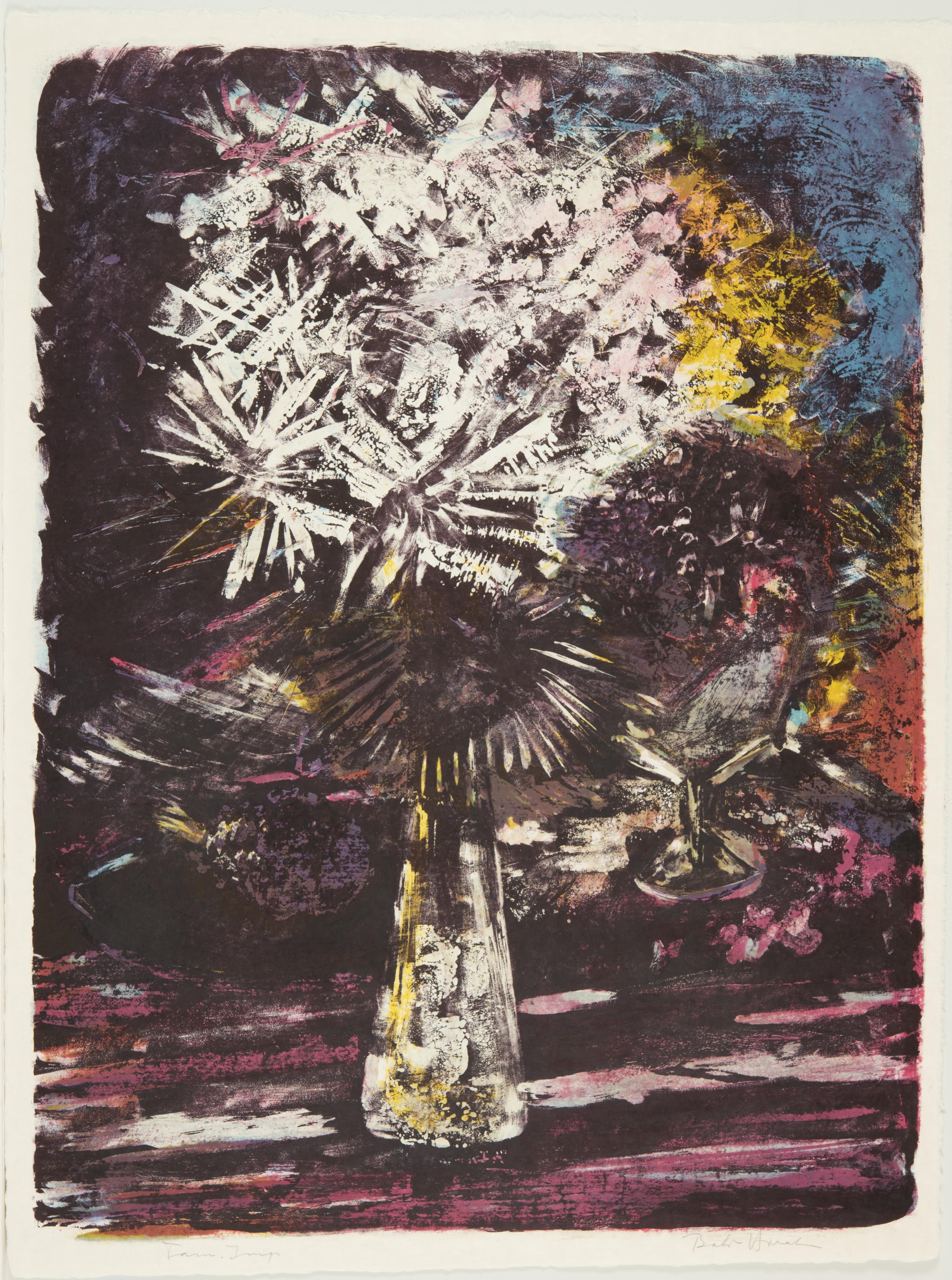 Bohuslav Horak, Flowers, December 1961