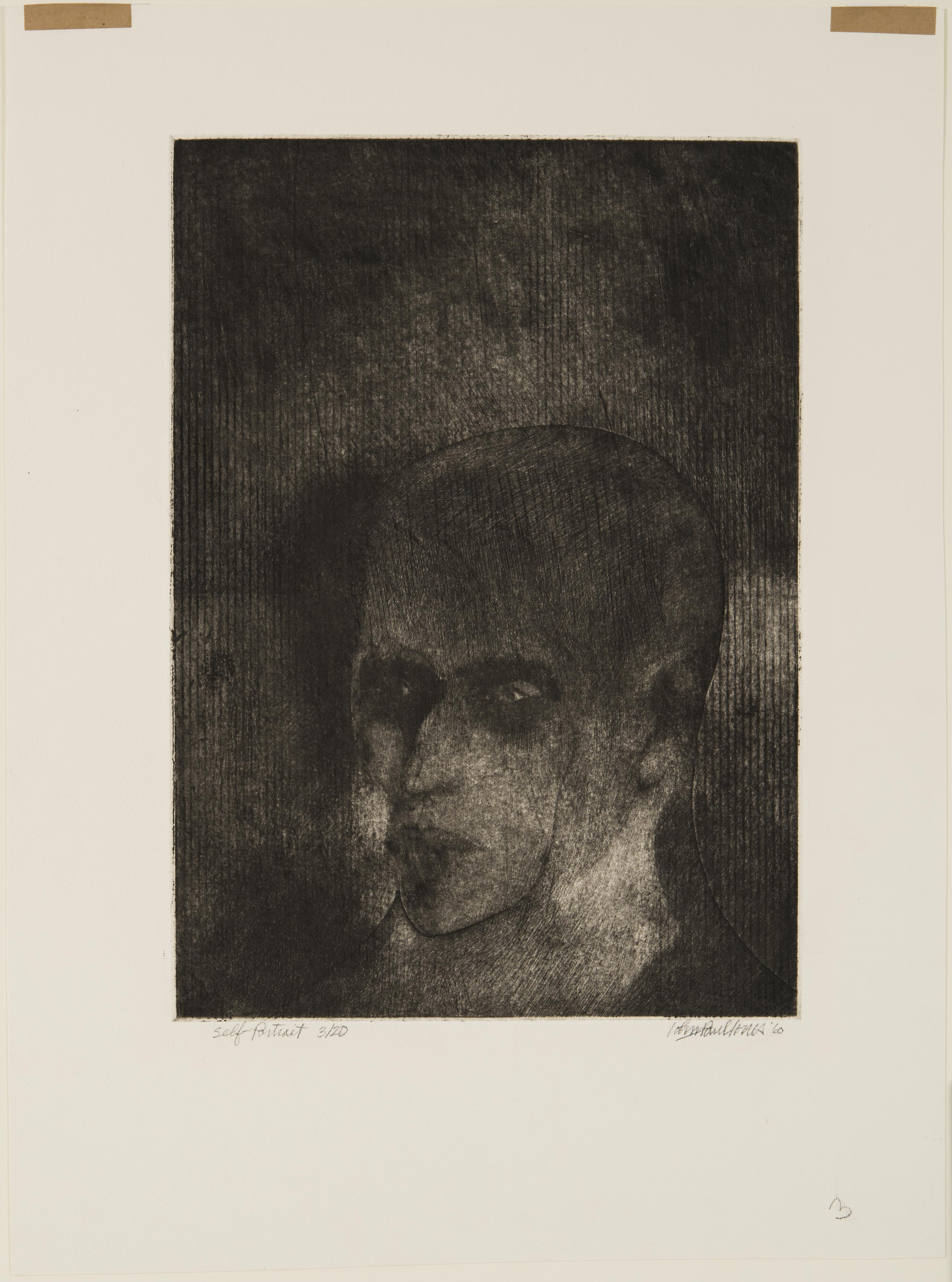 John Paul Jones, Self Portrait, 1960