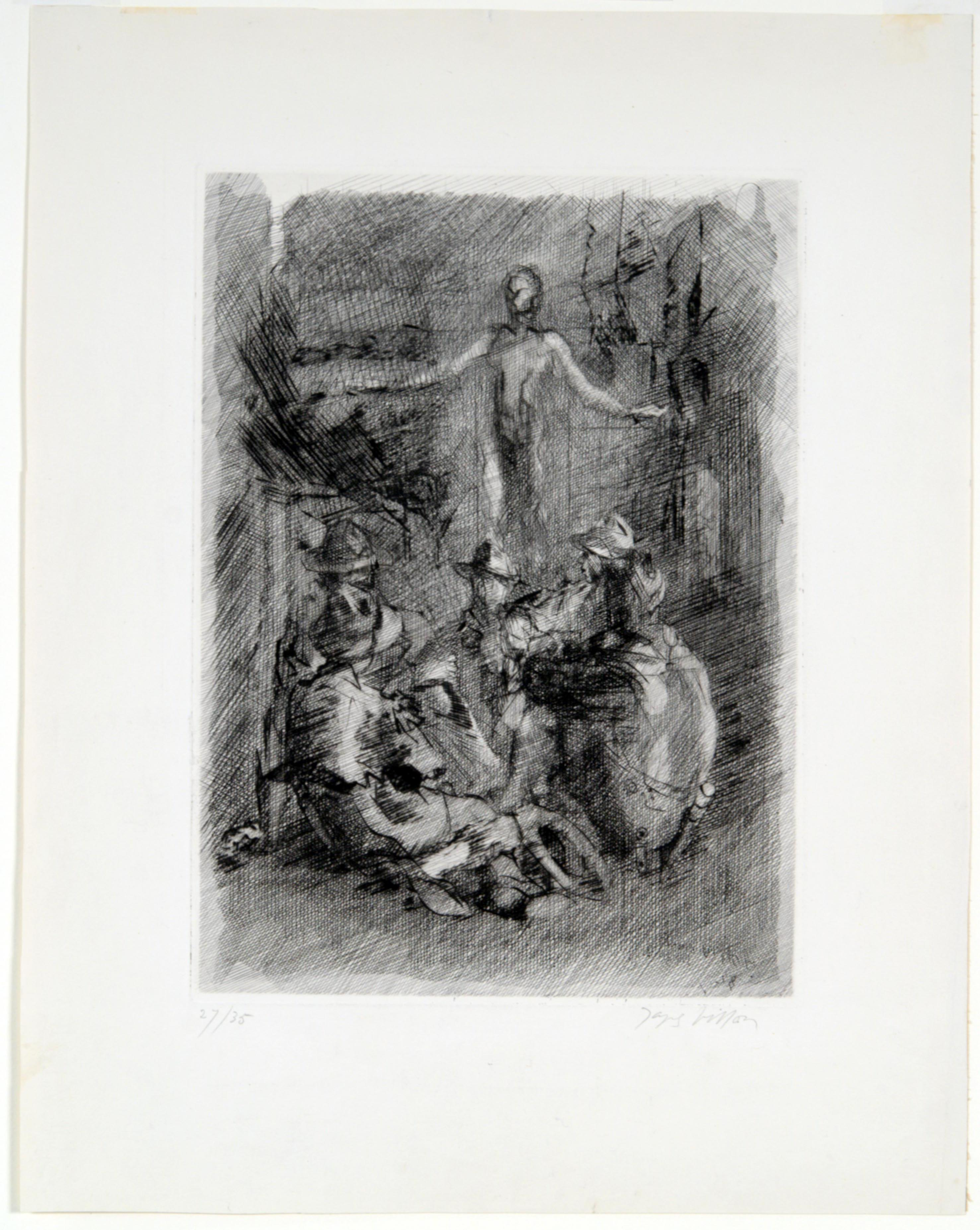 Jacques Villon, The Call of Life (The Boys), 1938