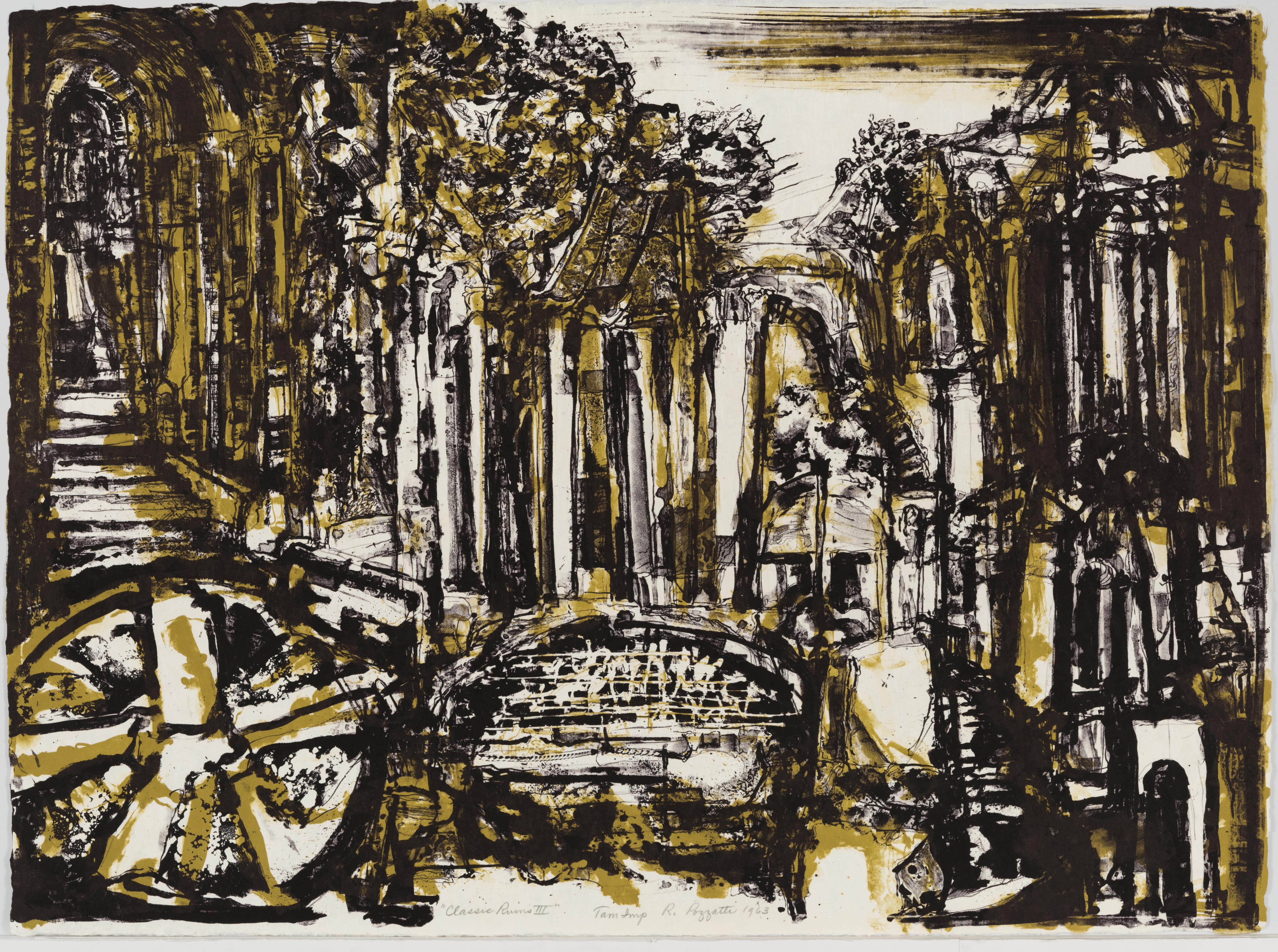 Rudy Pozzatti, Classic Ruins III, February 21-March 1, 1963