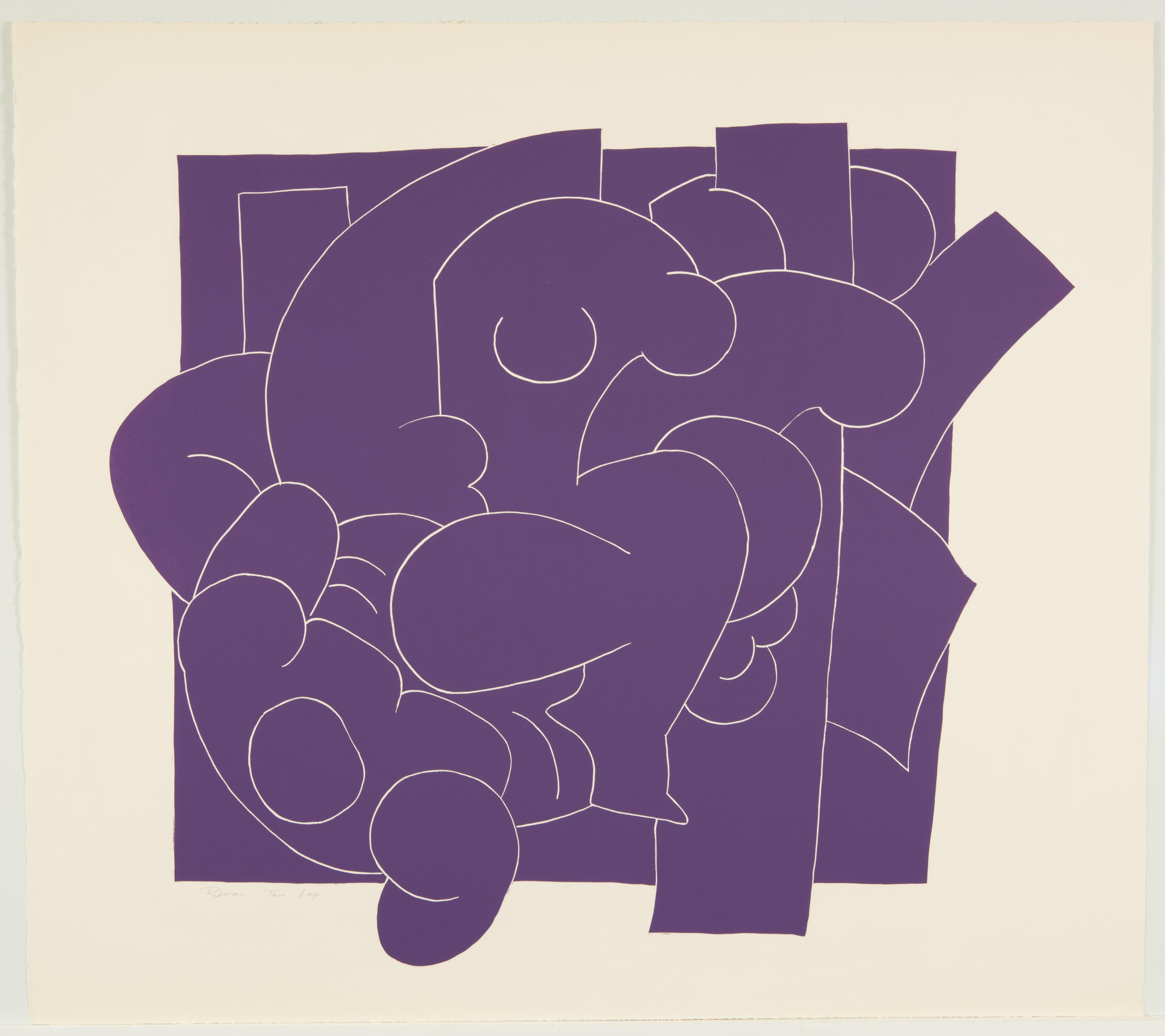 Reva Urban, Purple Concrete (VII), July 12-24, 1962