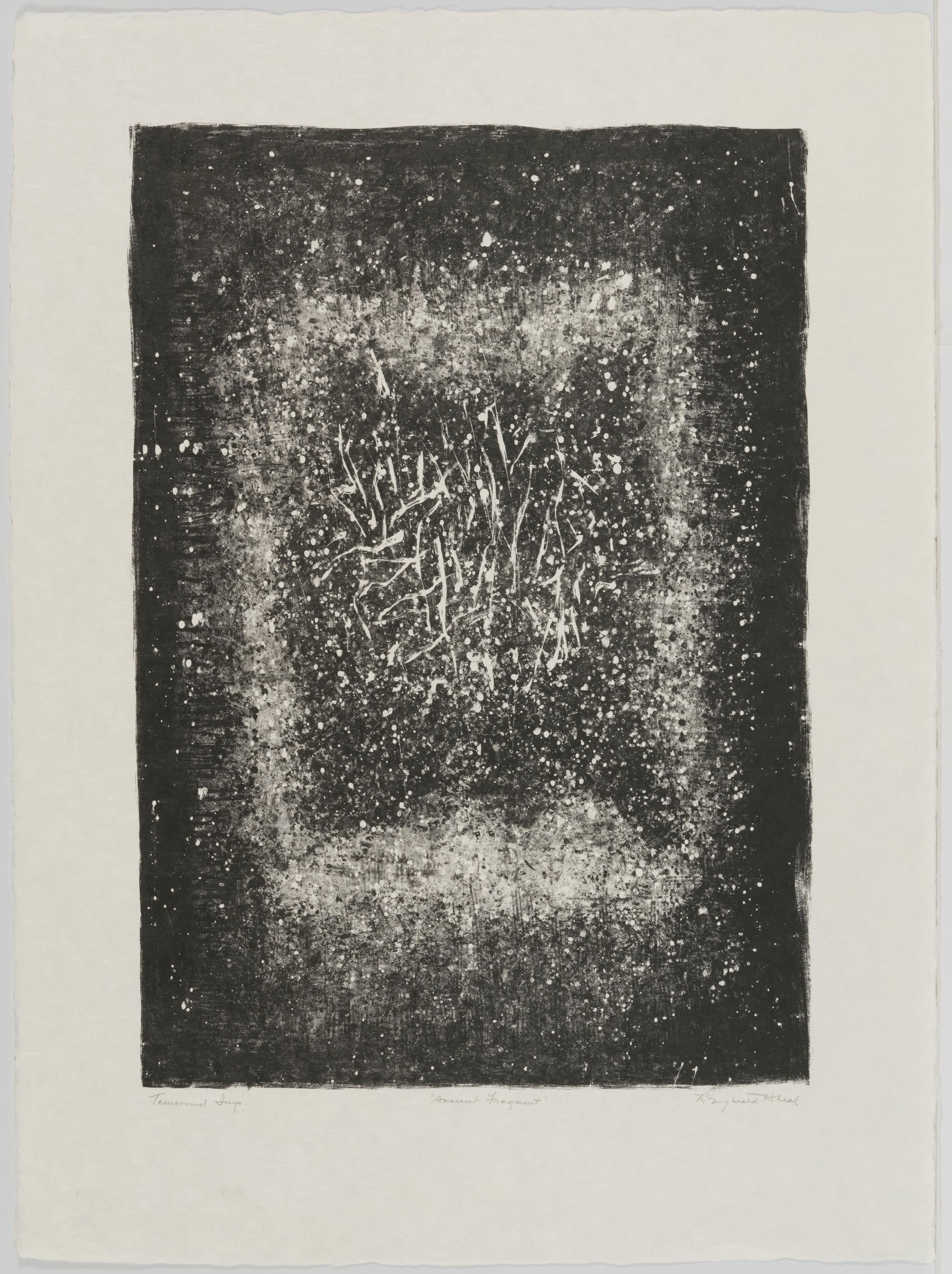 Reginald Neal, Ancient Fragment, October 11-12, 1962