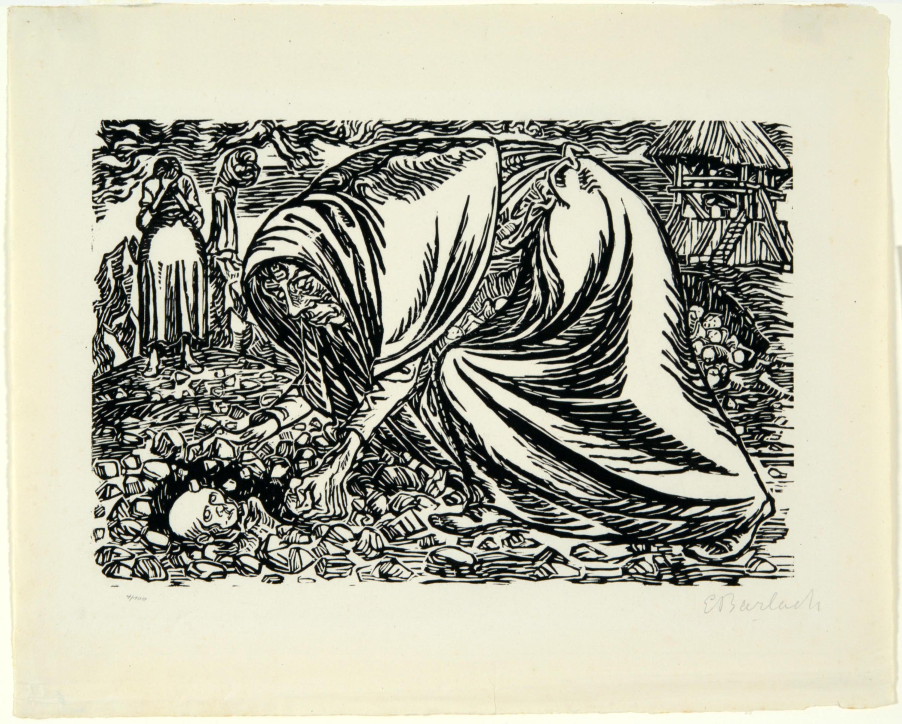 Ernst Barlach, Child's Death, 1919