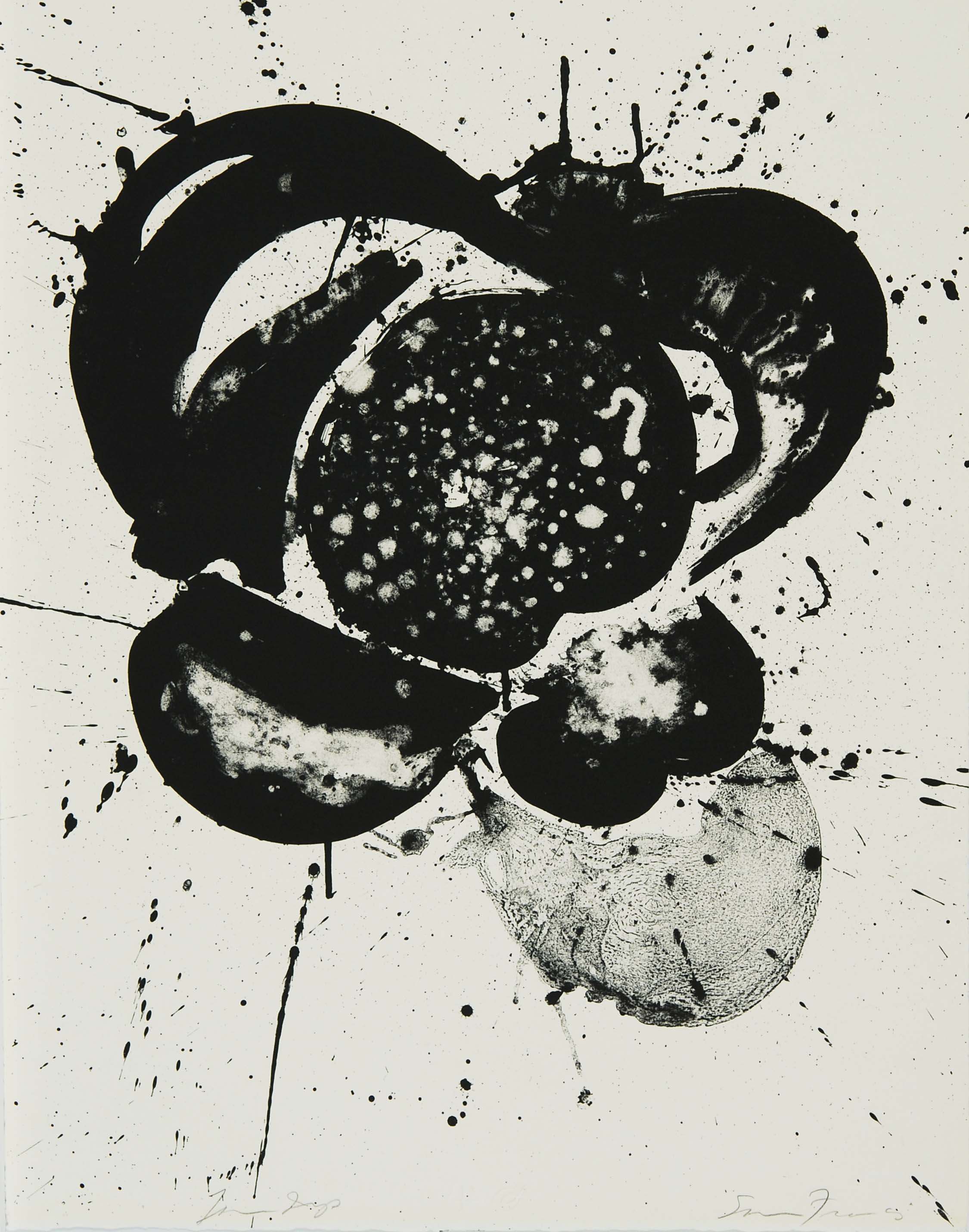 Sam Francis, Essai, March 27 - April 25, 1963
