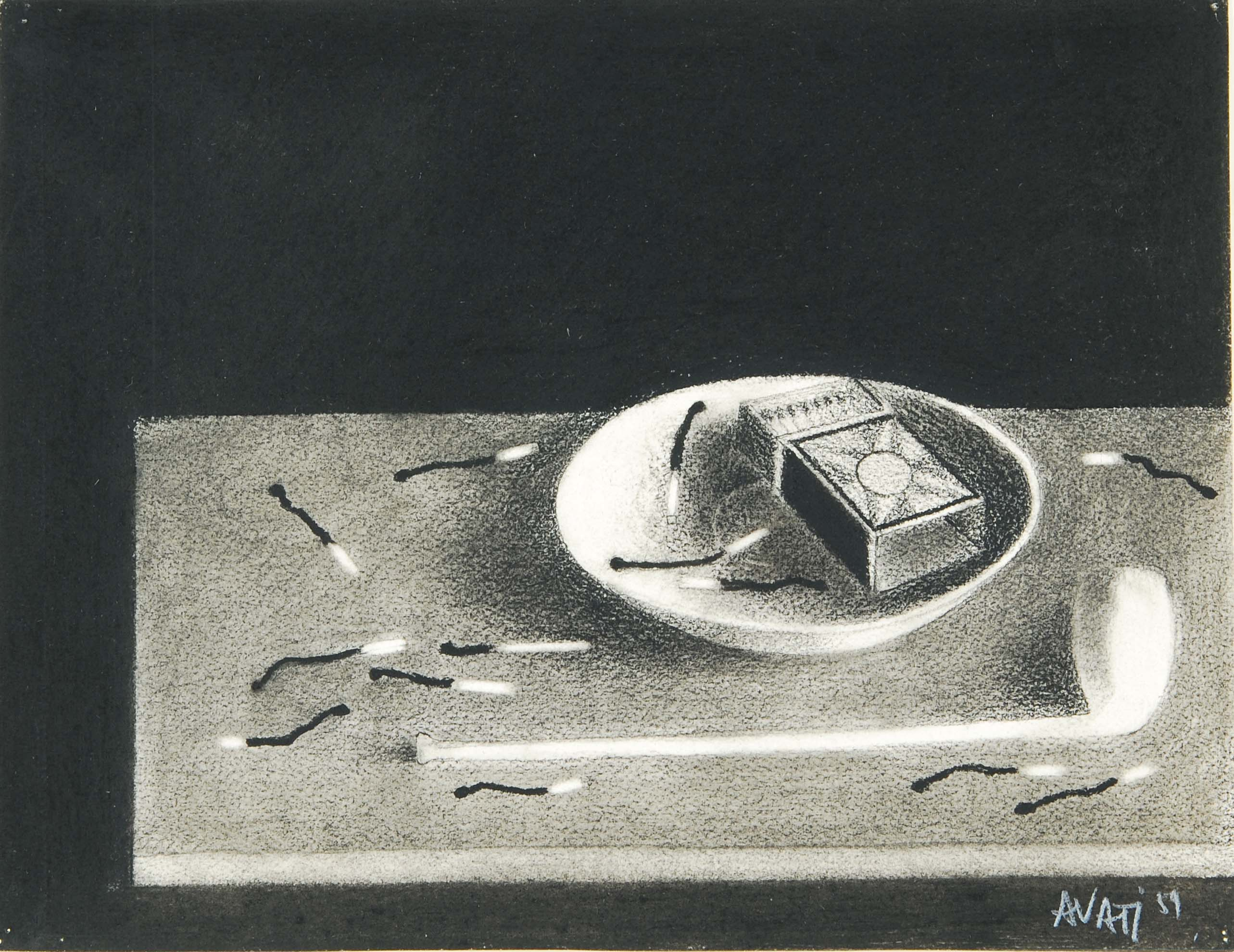 Mario Avati, Still Life with Matches, 1959
