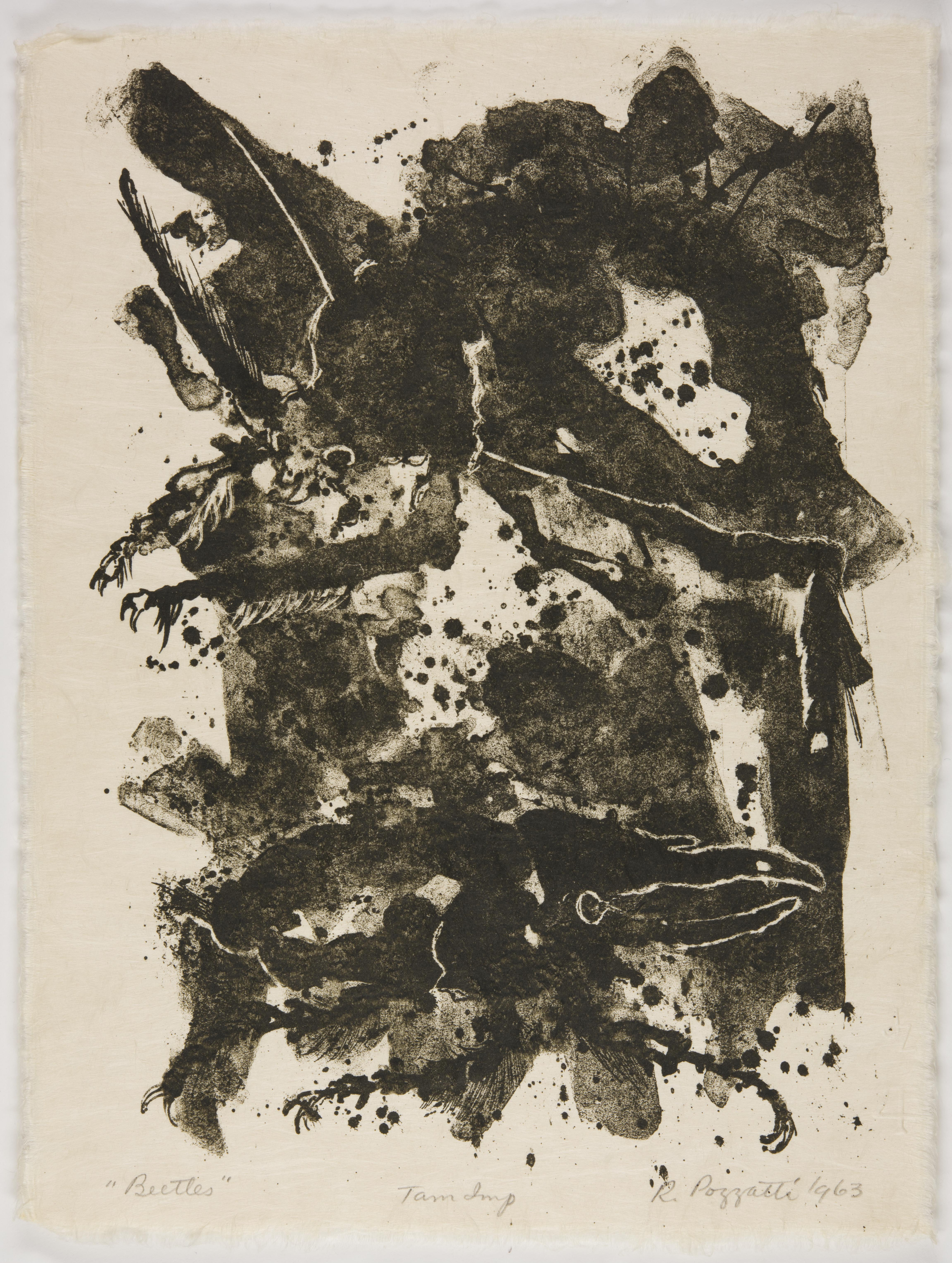 Rudy Pozzatti, Beetles (VII), March 21-25, 1963