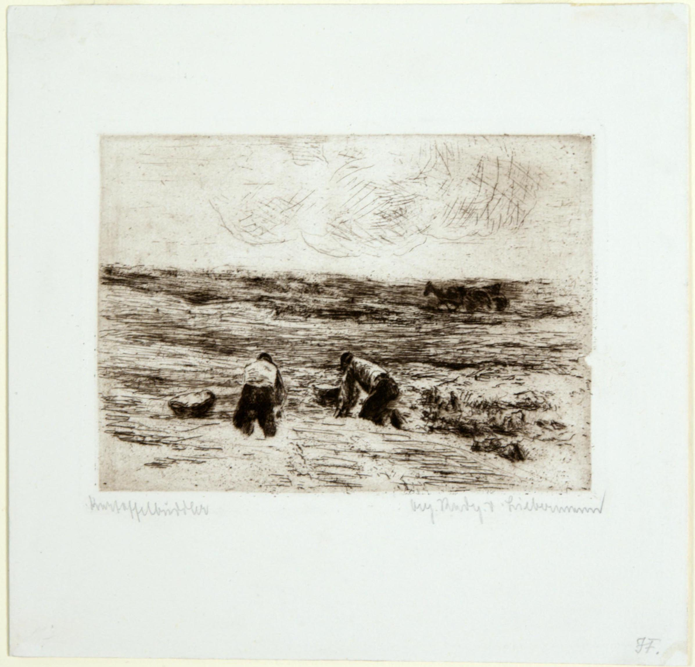 Max Liebermann, Potato Diggers, 1896