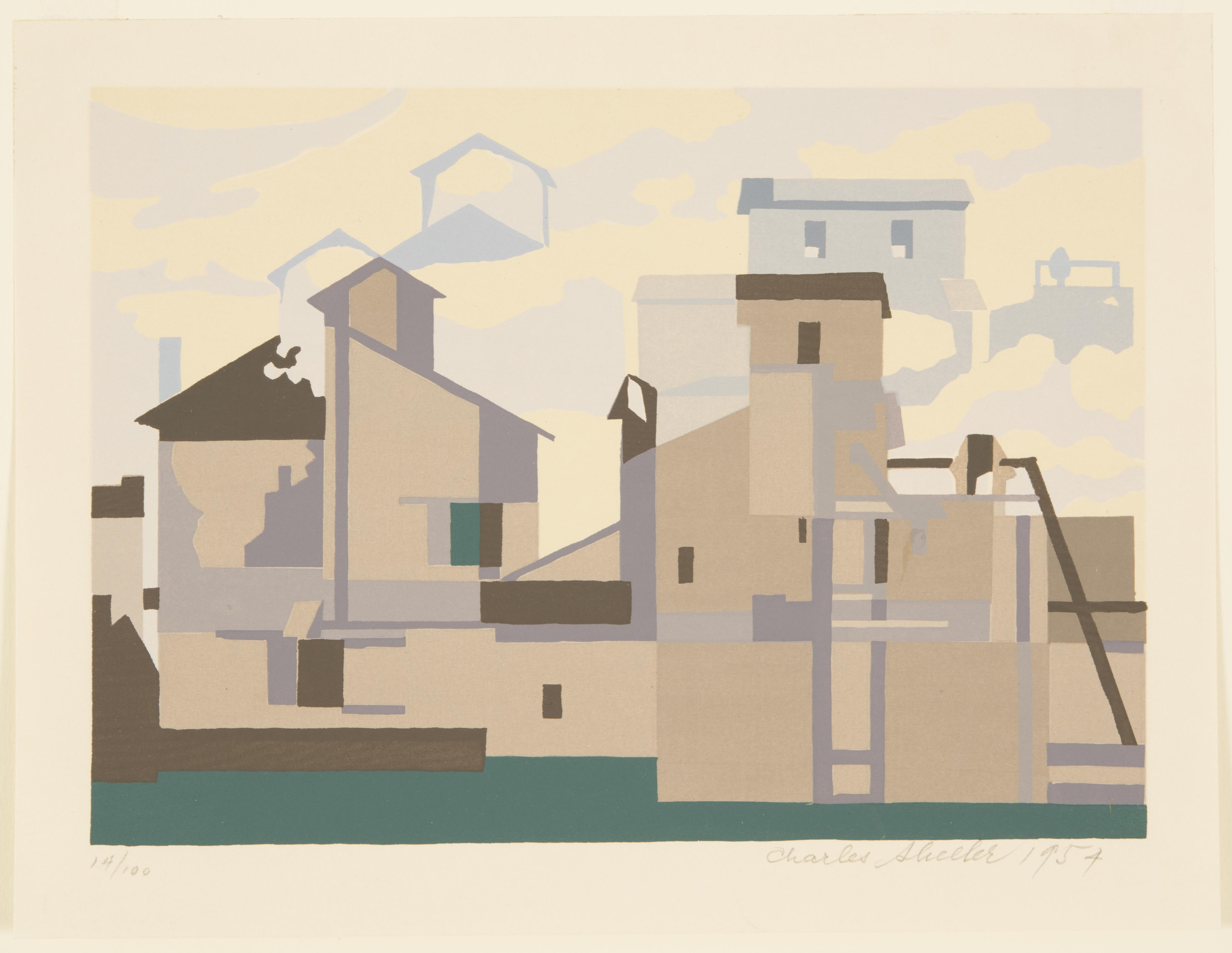Charles Sheeler, Architectural Cadence, 1954