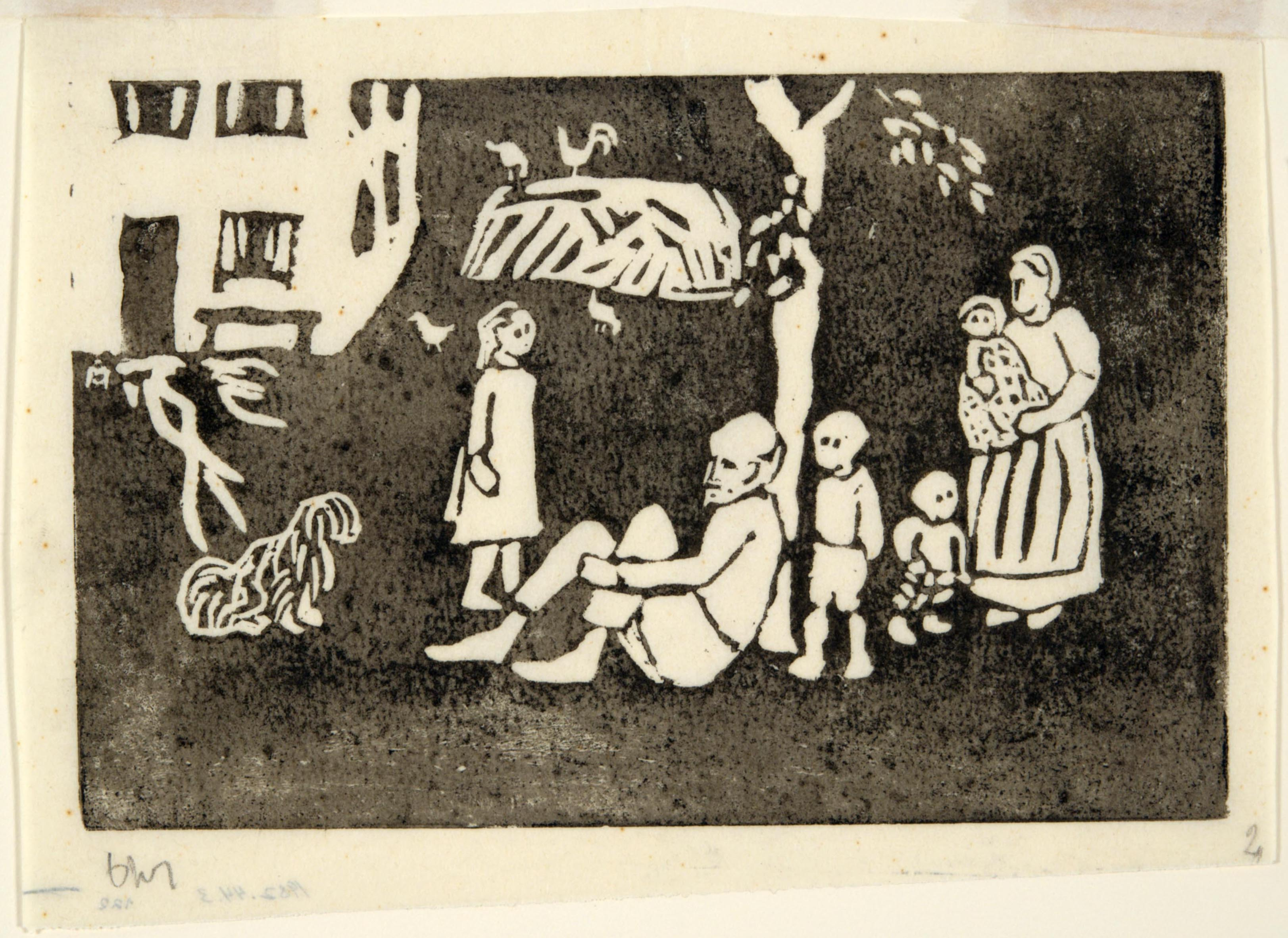 Gabriele Münter, Farming Family, ca. 1912