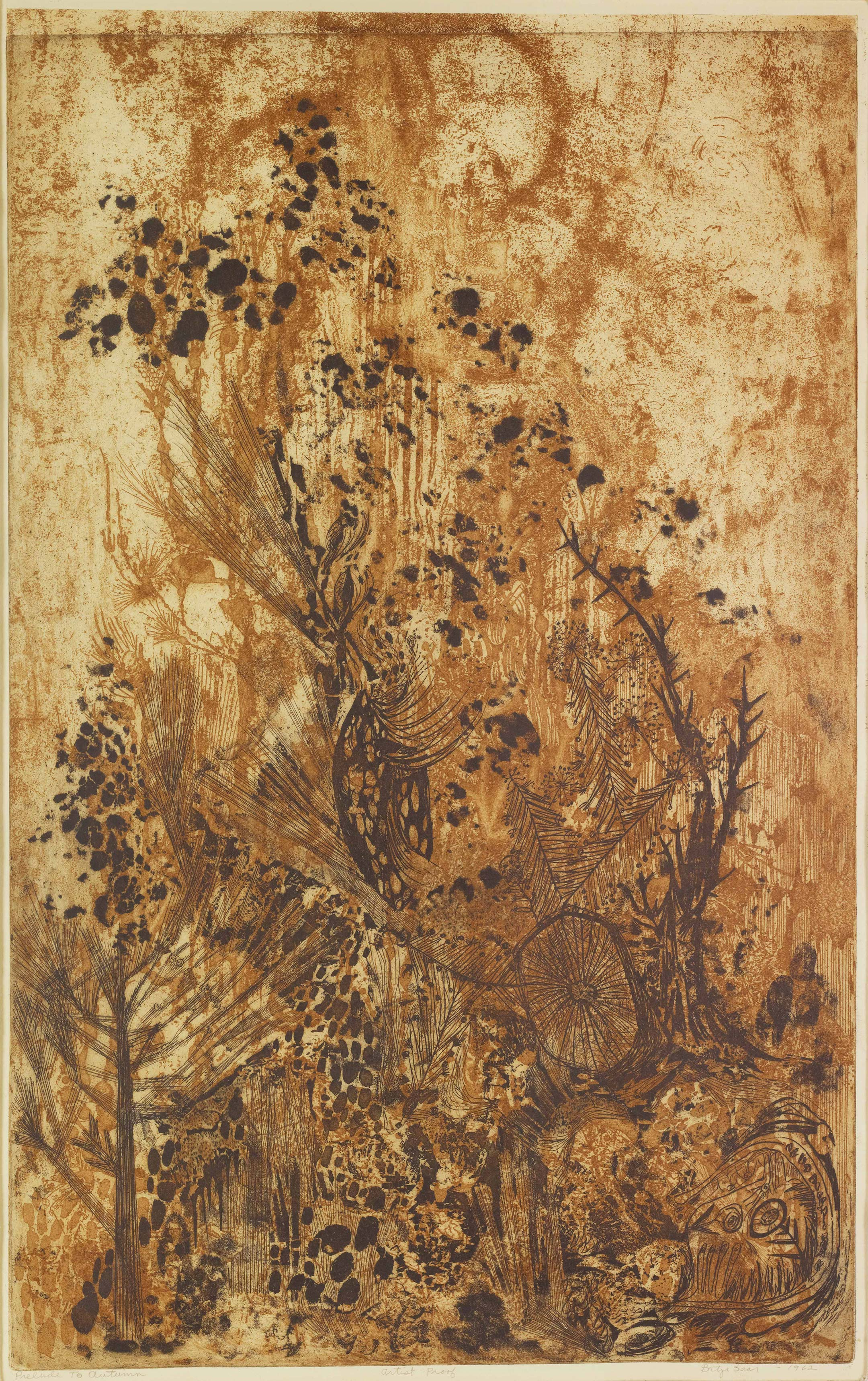 Prelude to Autumn, by Betye Saar, 1962
