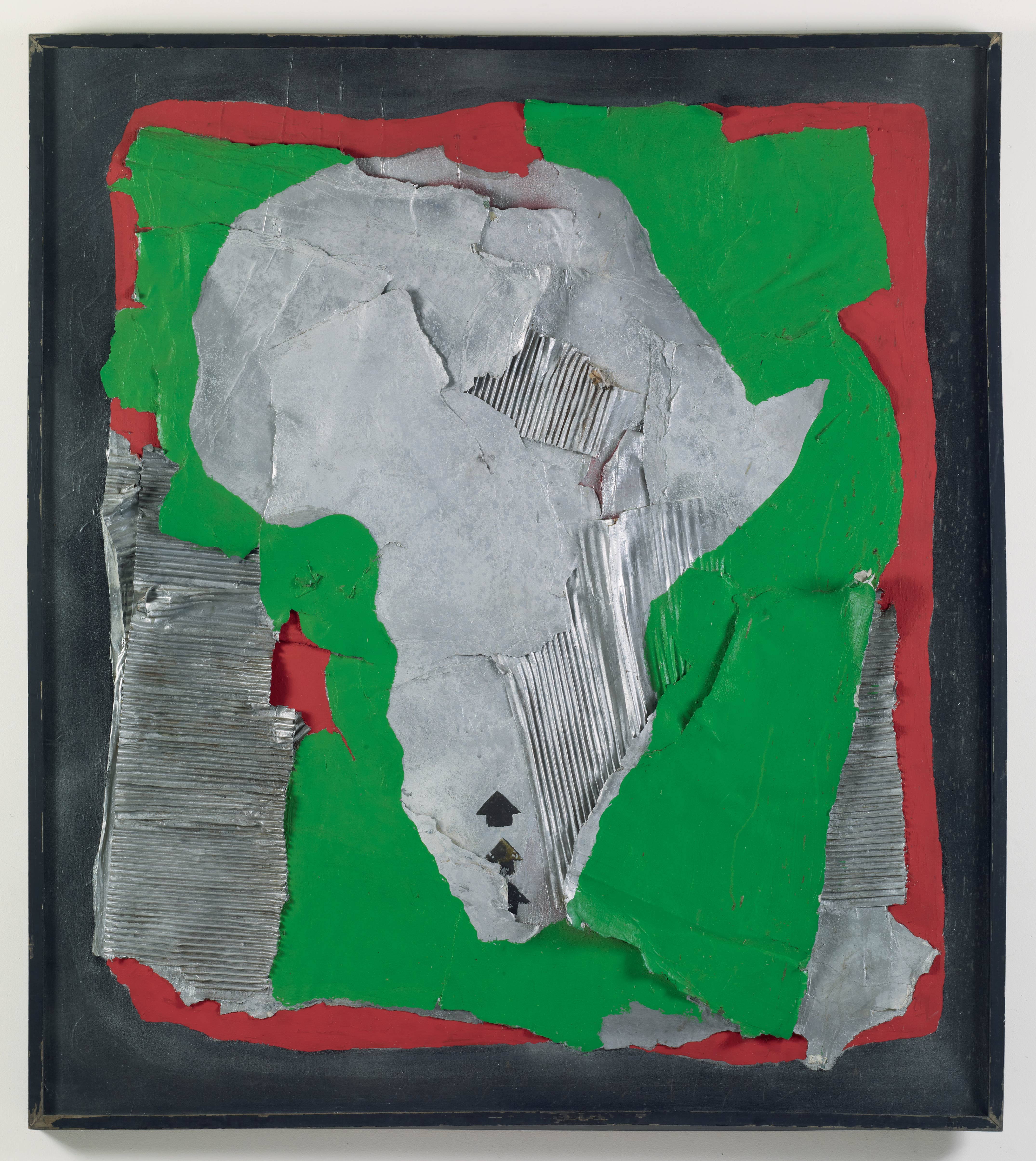 Pan African Direction III, by Alonzo Davis, 1973