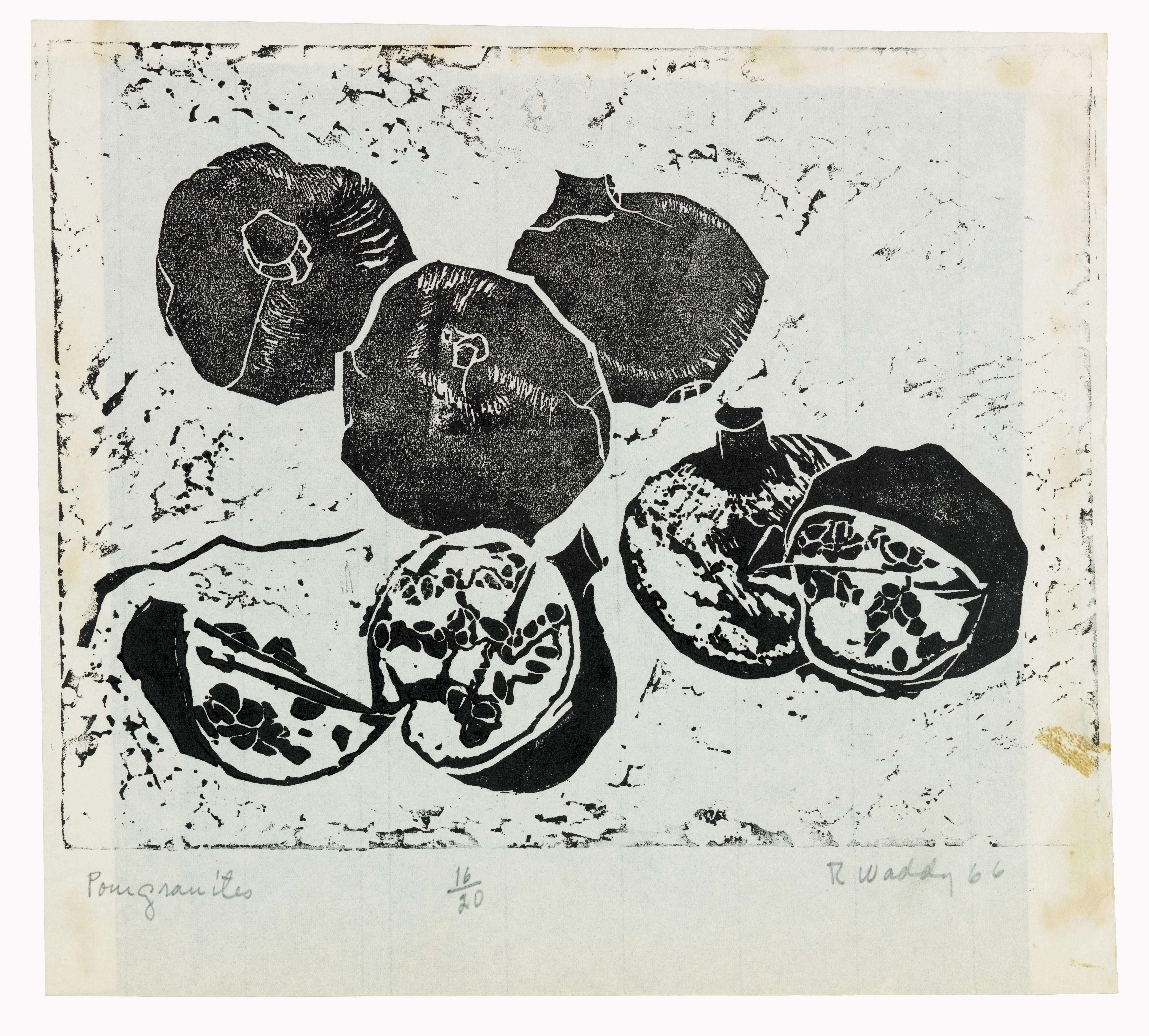 Pomegranates, by Ruth Waddy, 1966