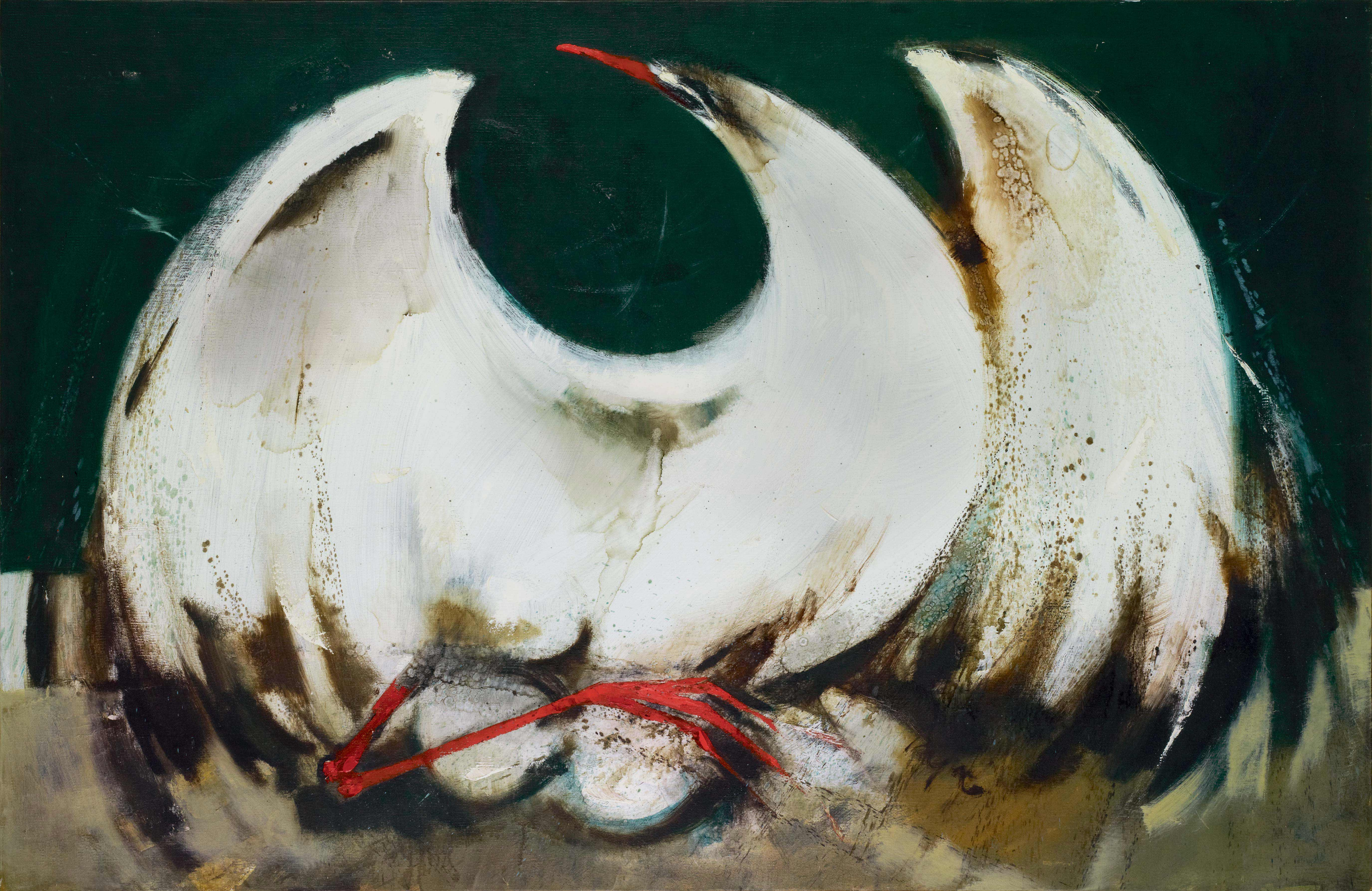 Sea Bird on Nest, by William Pajaud, n.d.