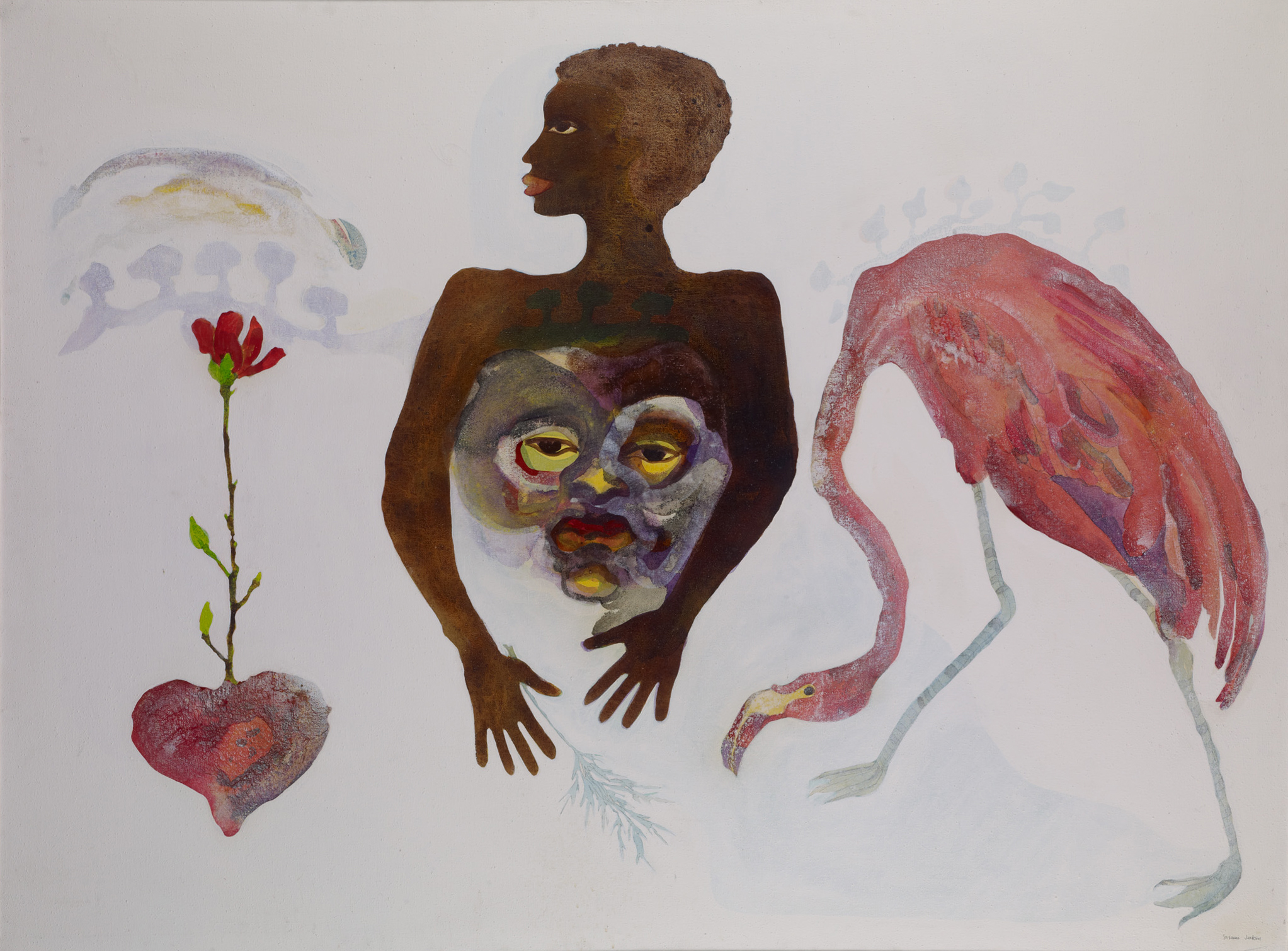 Apparitional Visitations, by Suzanne Jackson, 1973
