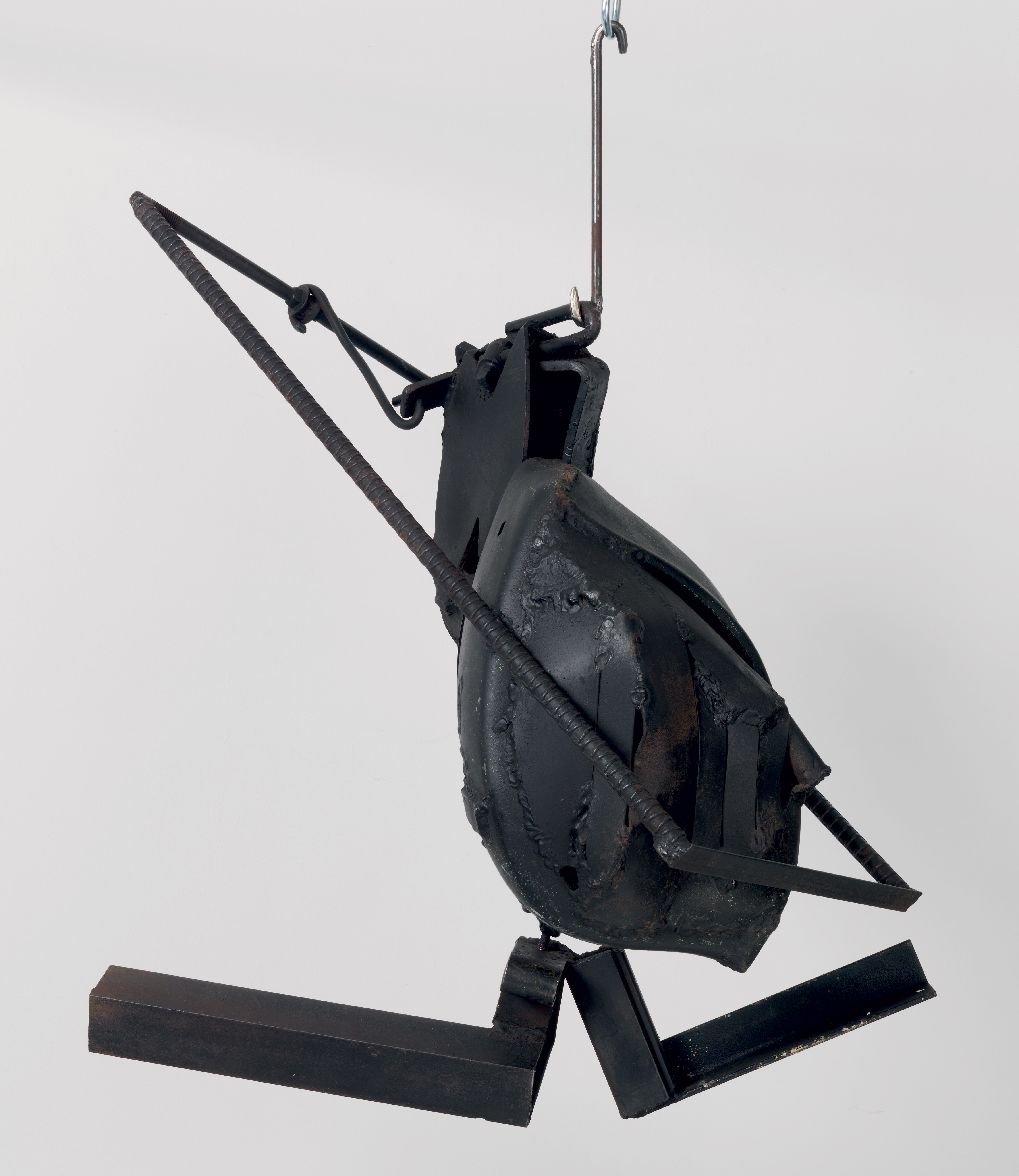 Cotton Hangup, by Melvin Edwards, 1966