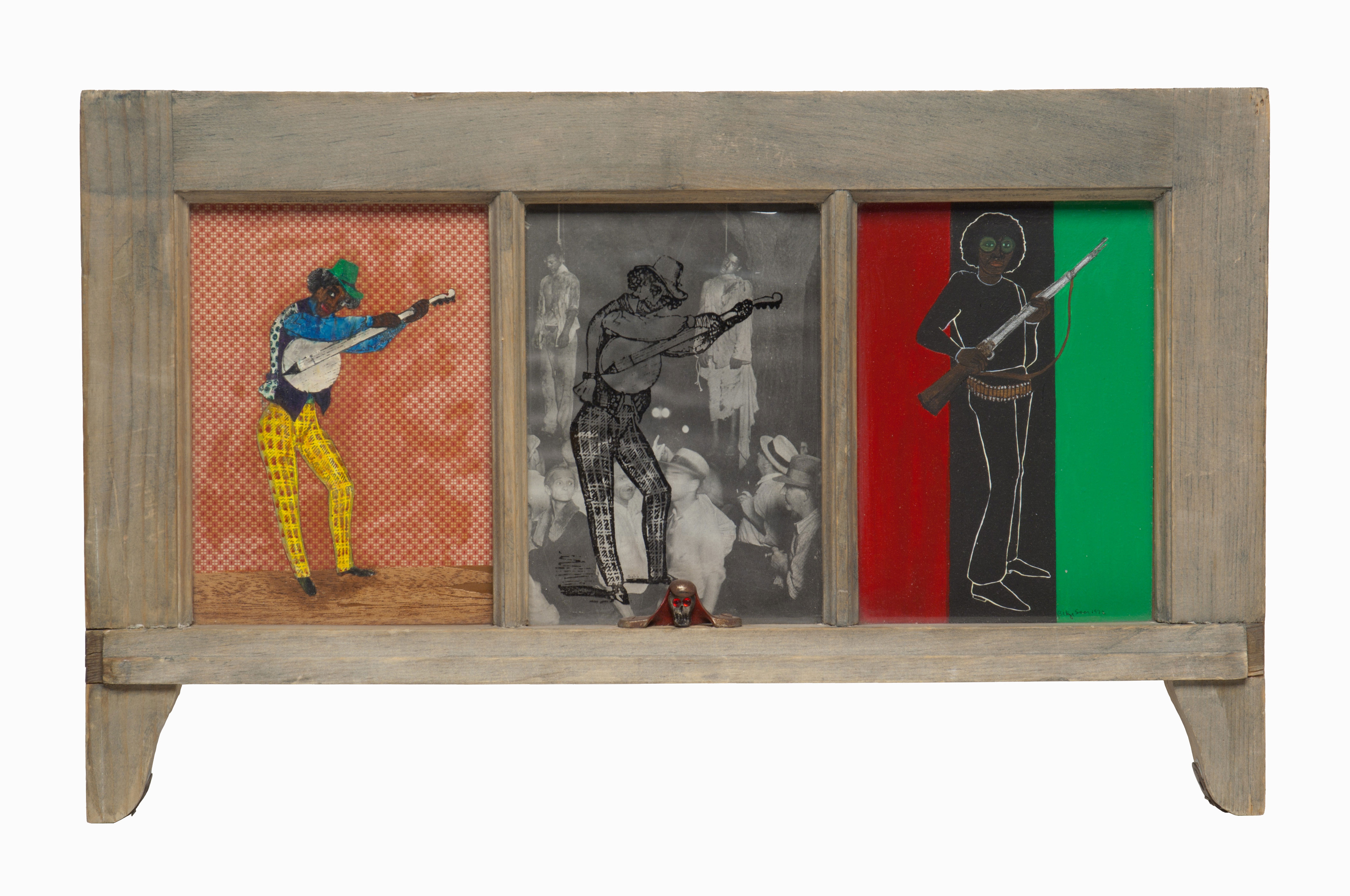 Let Me Entertain You, by Betye Saar, 1972