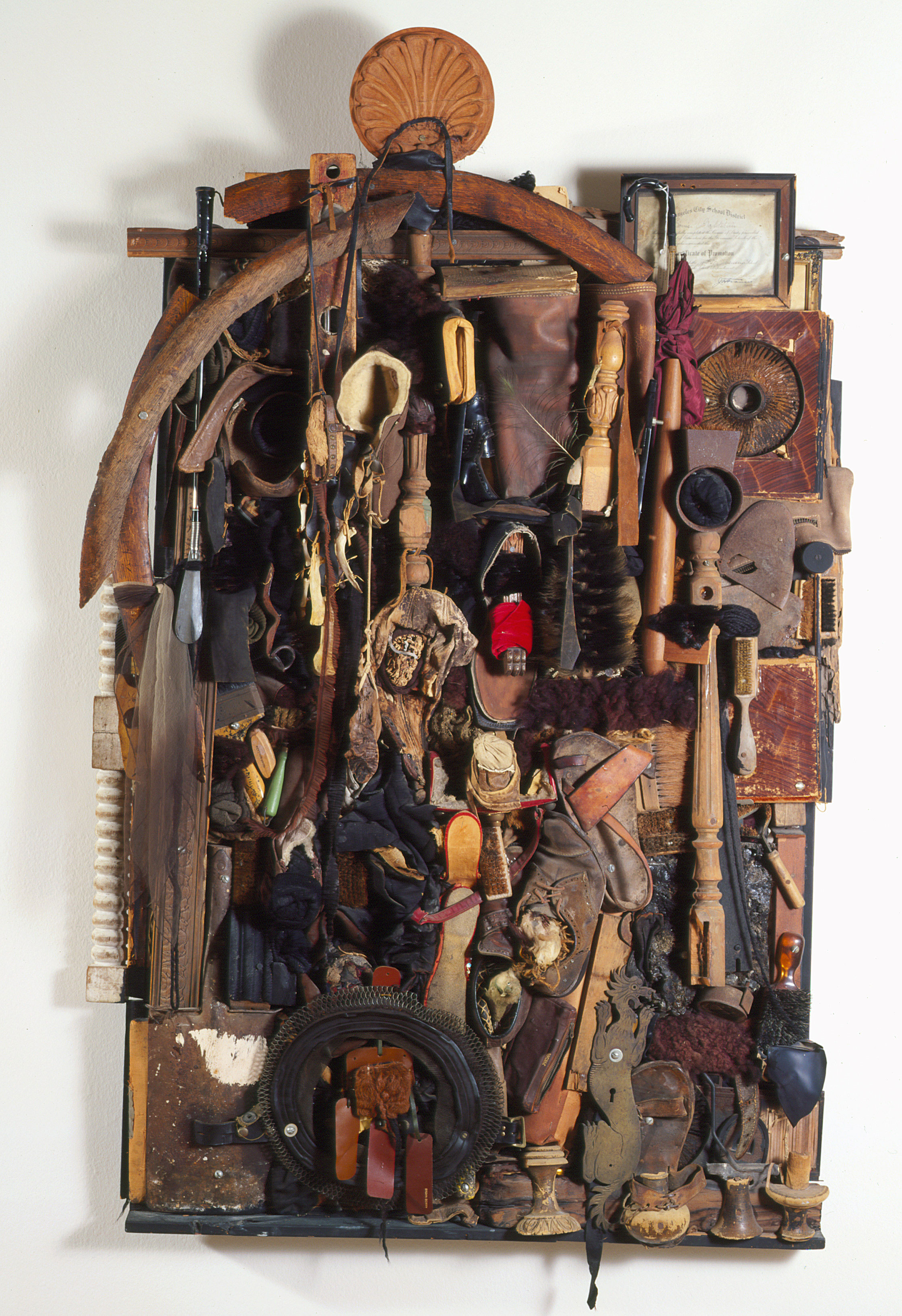 Untitled (Assemblage), by Noah Purifoy, 1967