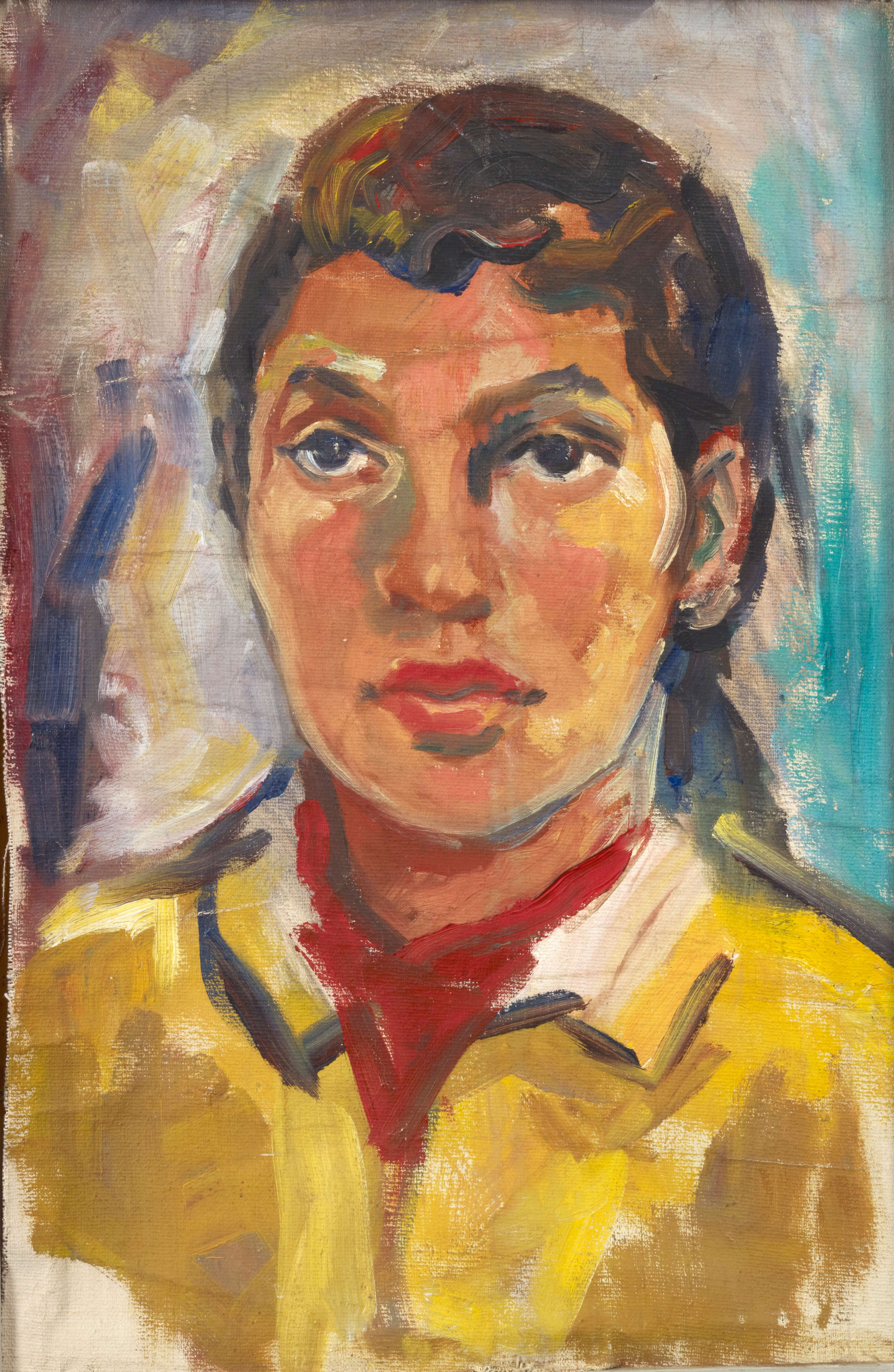 Portrait of Marie, by Samella Lewis, c.1950