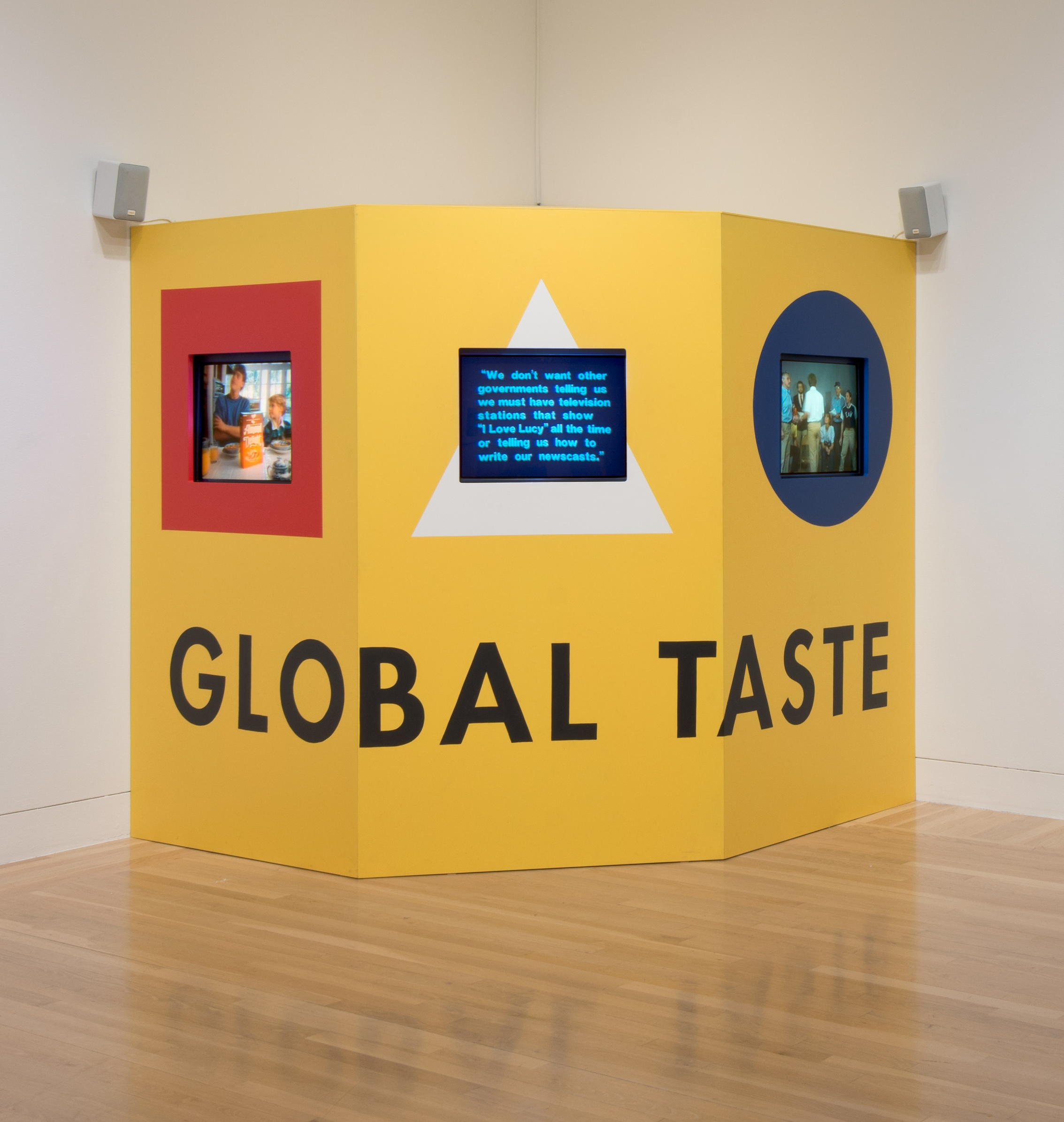 Global Taste: A Meal in Three Courses, by Martha Rosler, 1985