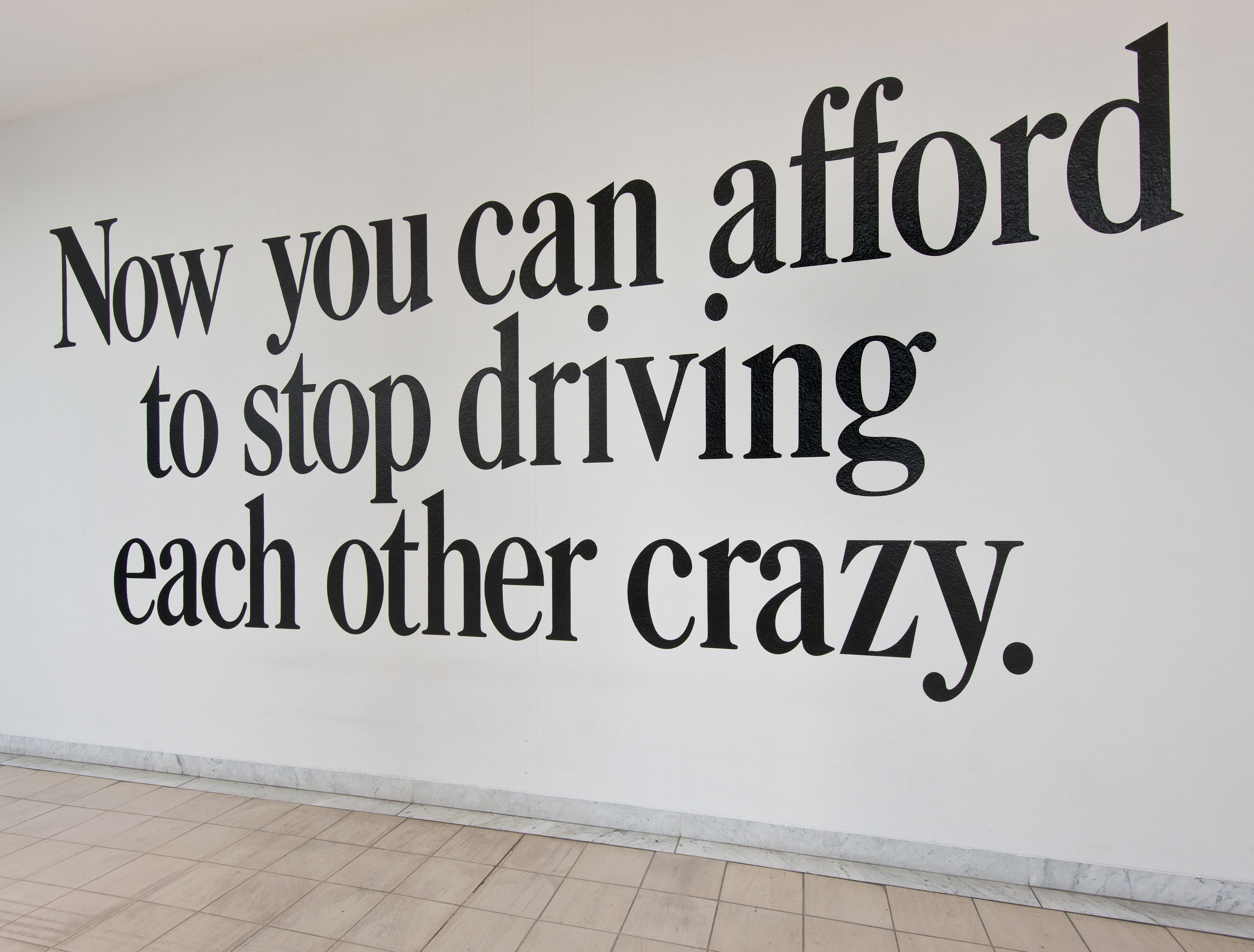 now you can afford to stop driving each other crazy, by Haim Steinbach, 1986