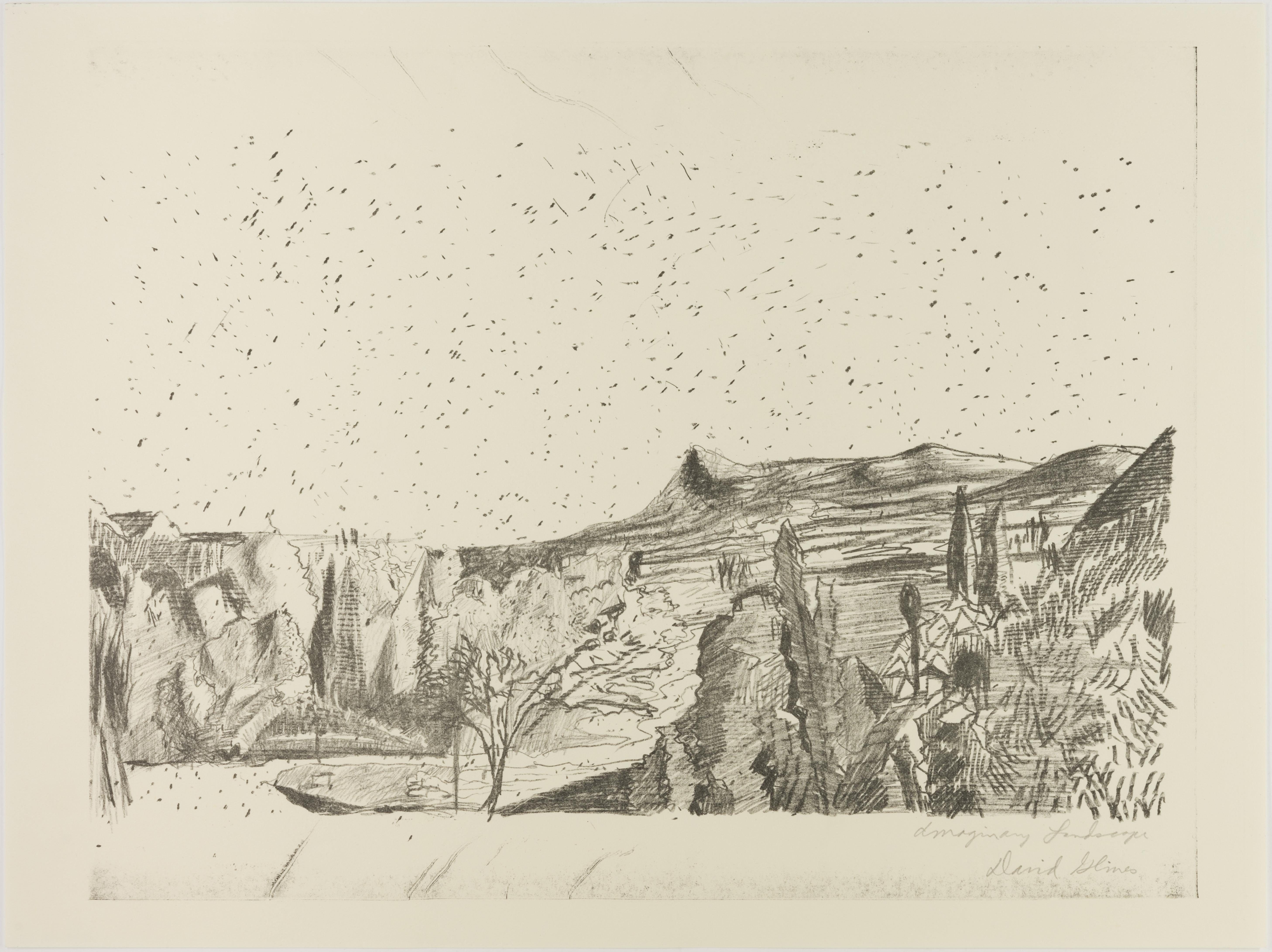 David Glines, Imaginary Landscape, September 15, 1971