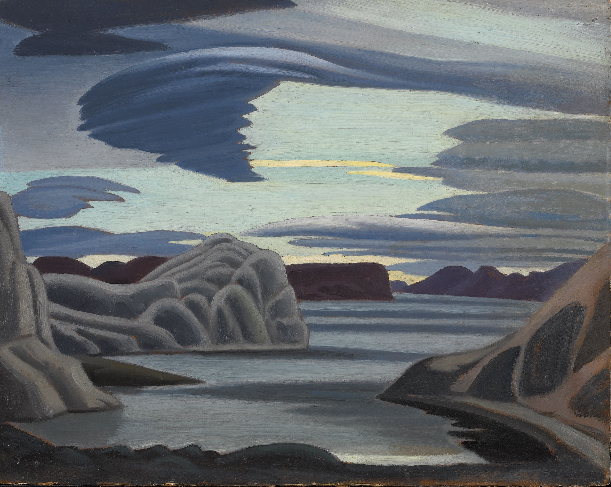 How did canadian artists in 20th century contribute to canadian identity?