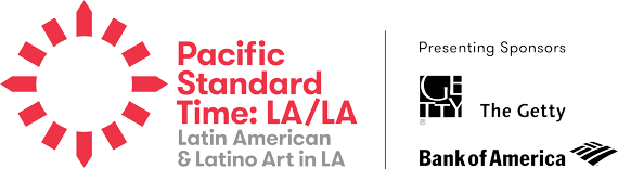 logo for Pacific Standard Time: LA/LA