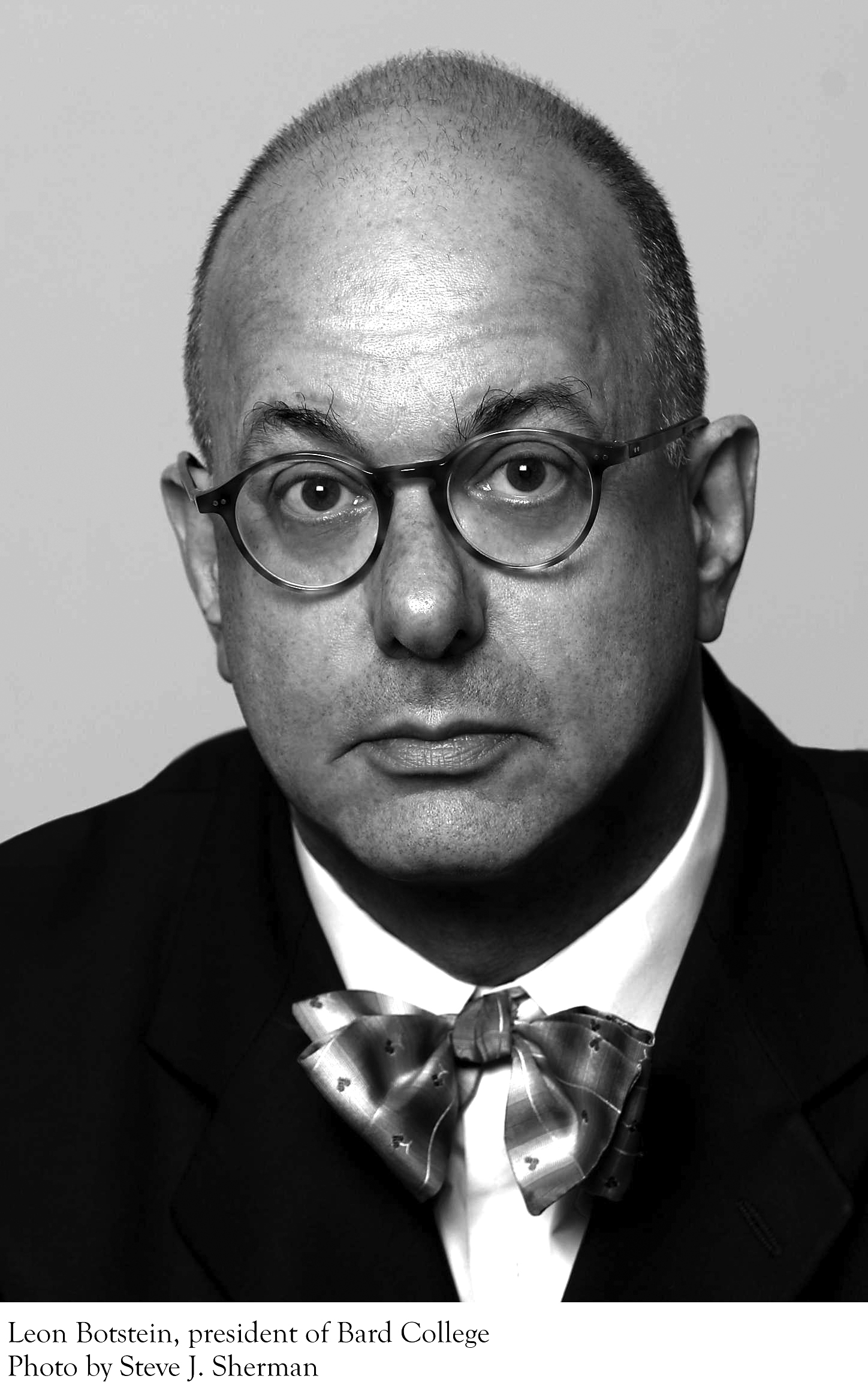 "leon botsteins I think there is implicit condescension,"" says leon botstein, ""when people try to seem younger than they are"" it is not one of botstein's problems as he takes over as president of bard."