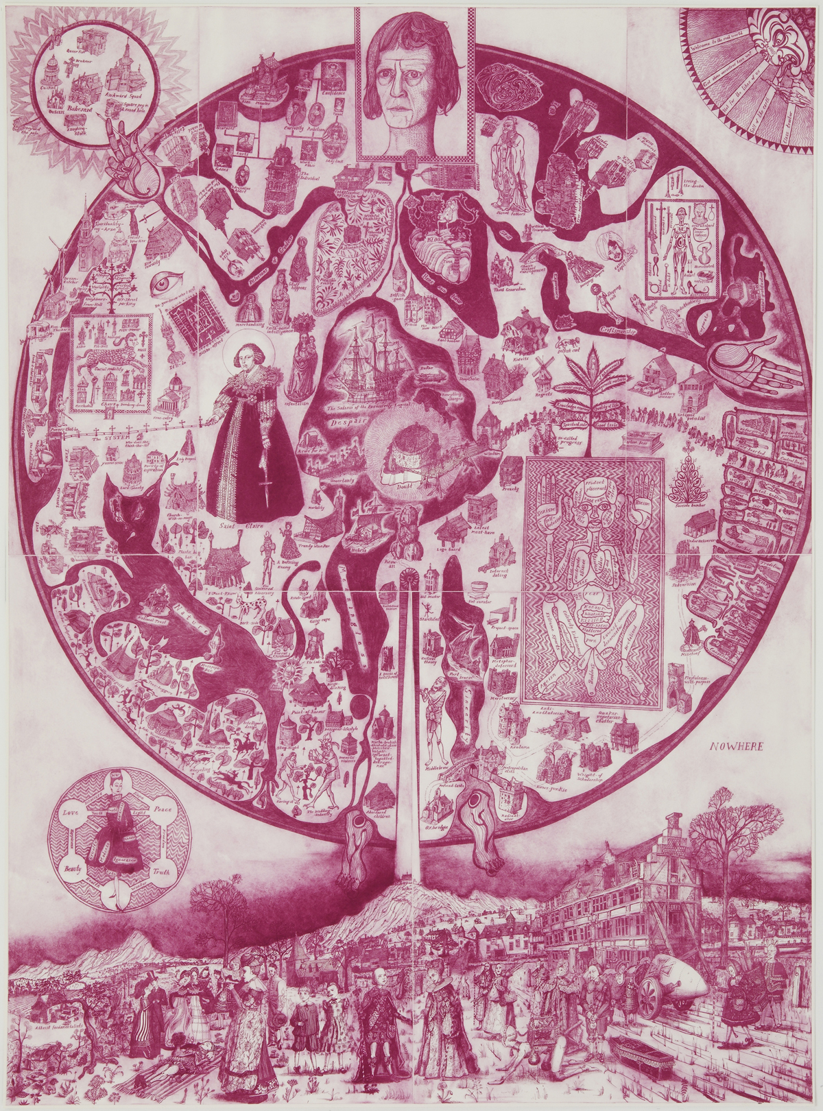 Grayson Perry Etching Acquired By Grunwald Center