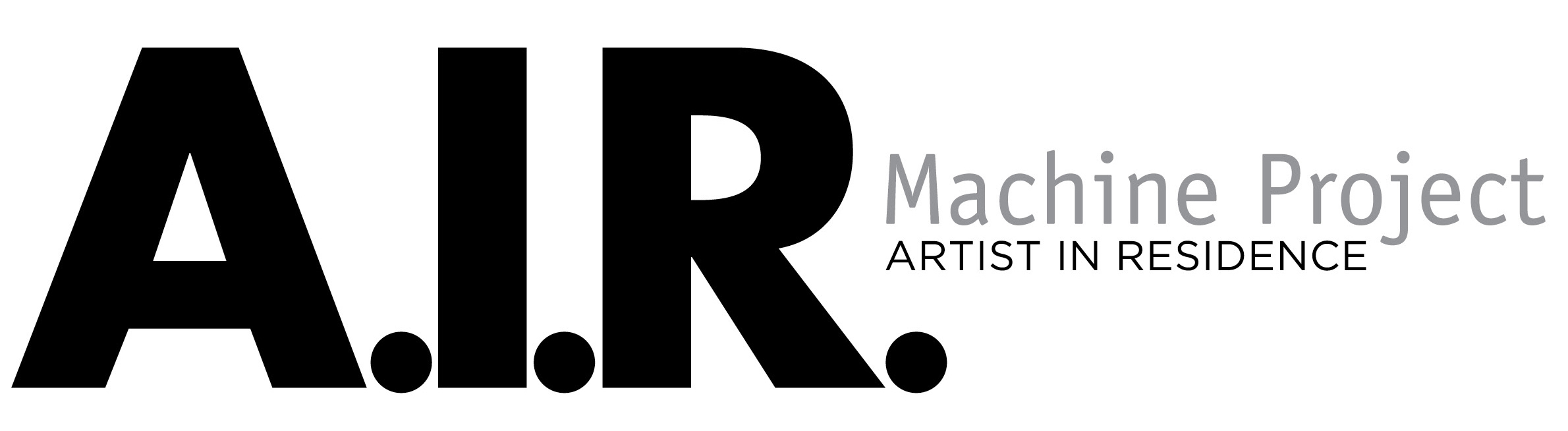 Machine Project Artist In Residence logo