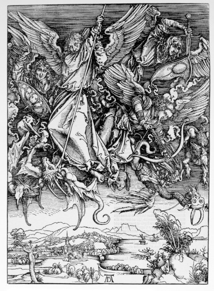 St. Michael Fighting the Dragon