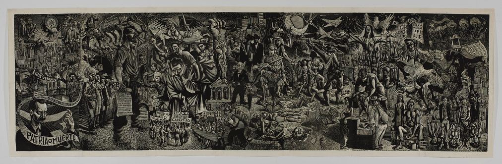 contemporary american woodcut artists 1