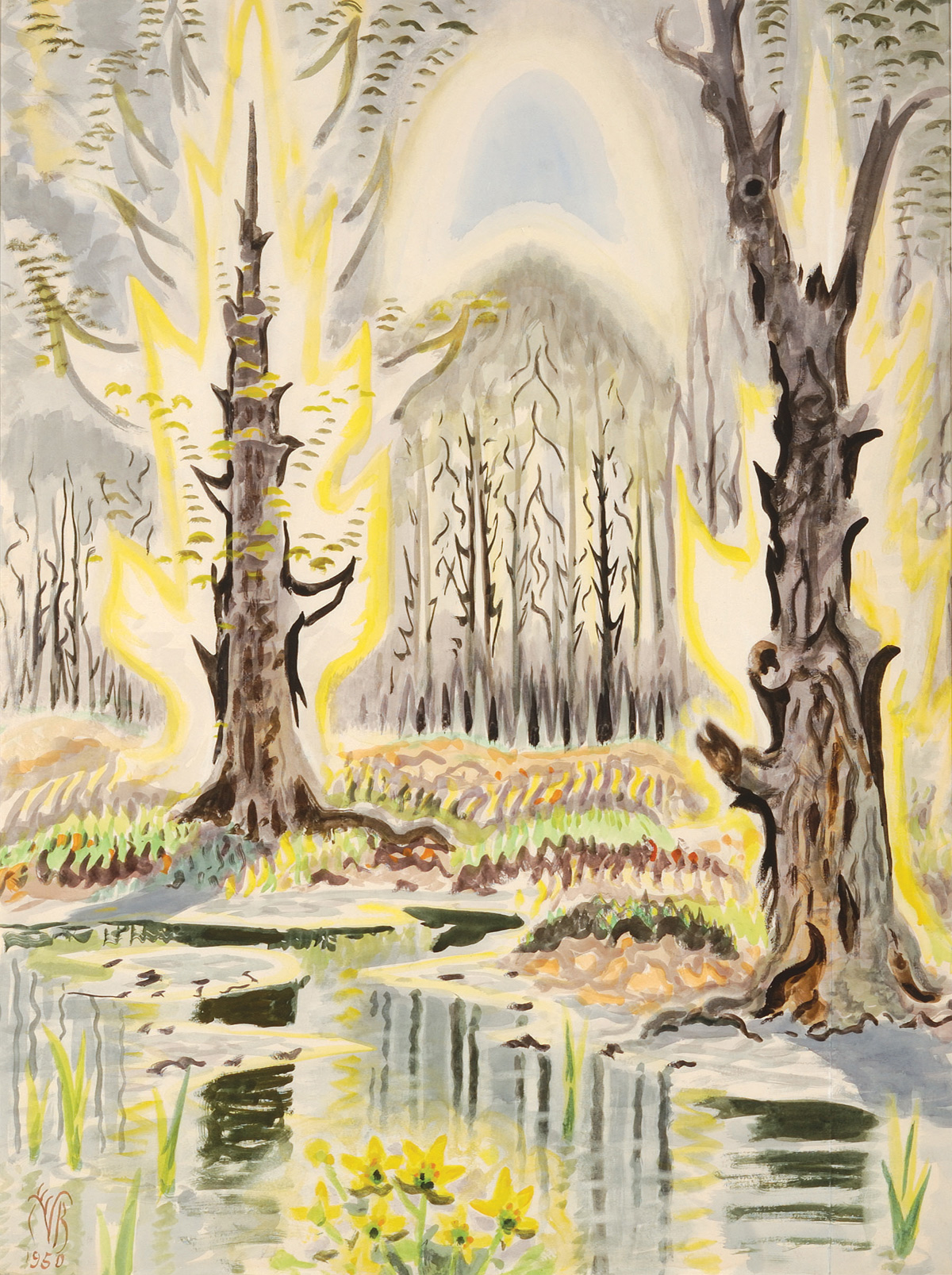 Heat Waves In A Swamp The Paintings Of Charles Burchfield