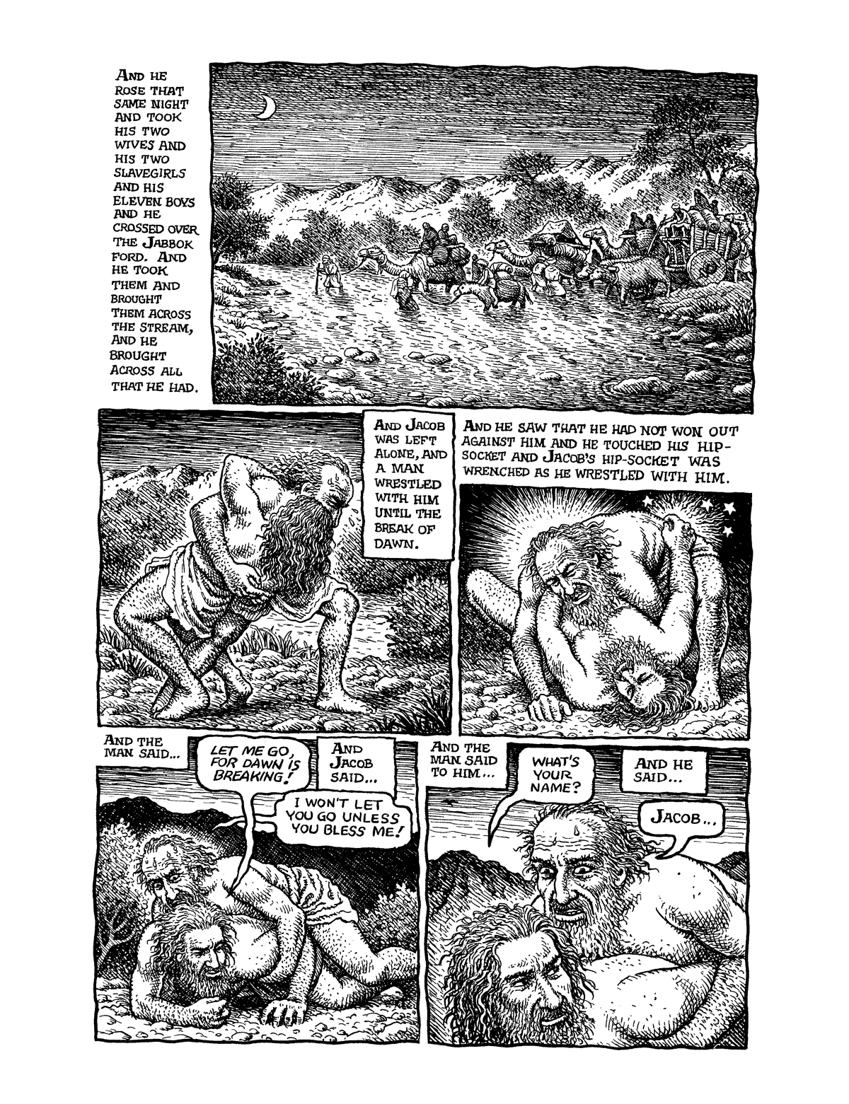The Bible Illuminated R Crumb S Book Of Genesis Hammer