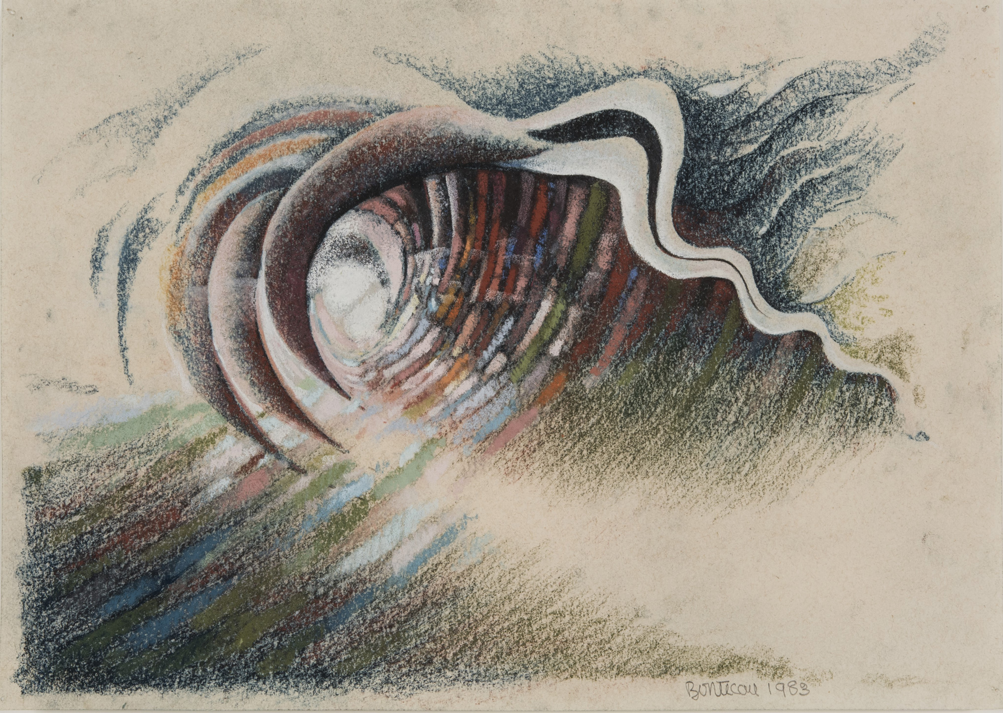 Lee Bontecou, Untitled #21, 1983.