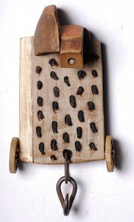Off Site Exhibition John Outterbridge Rag Man Hammer